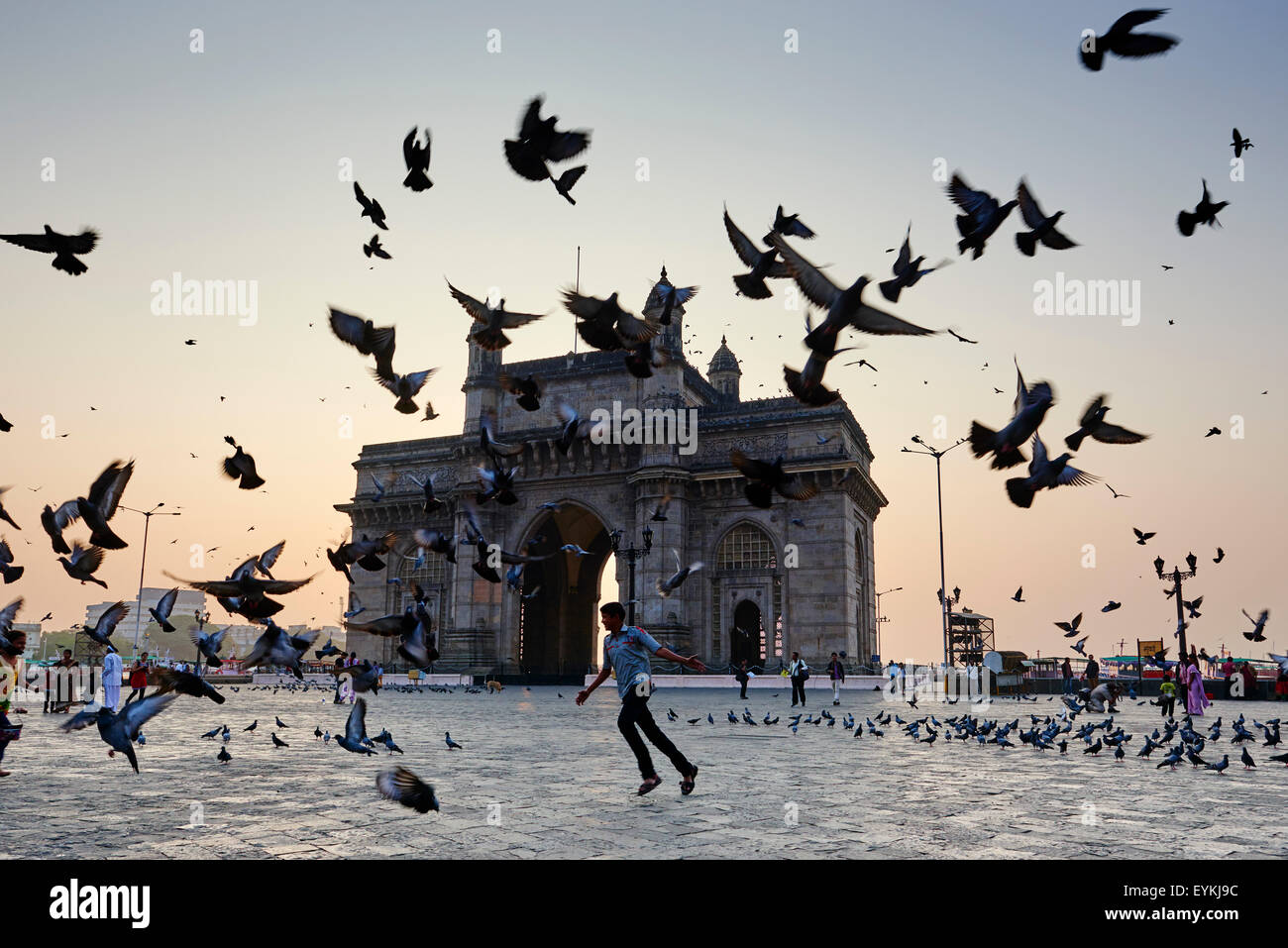 Indien, Maharashtra, Mumbai (Bombay), Gateway of India Stockbild