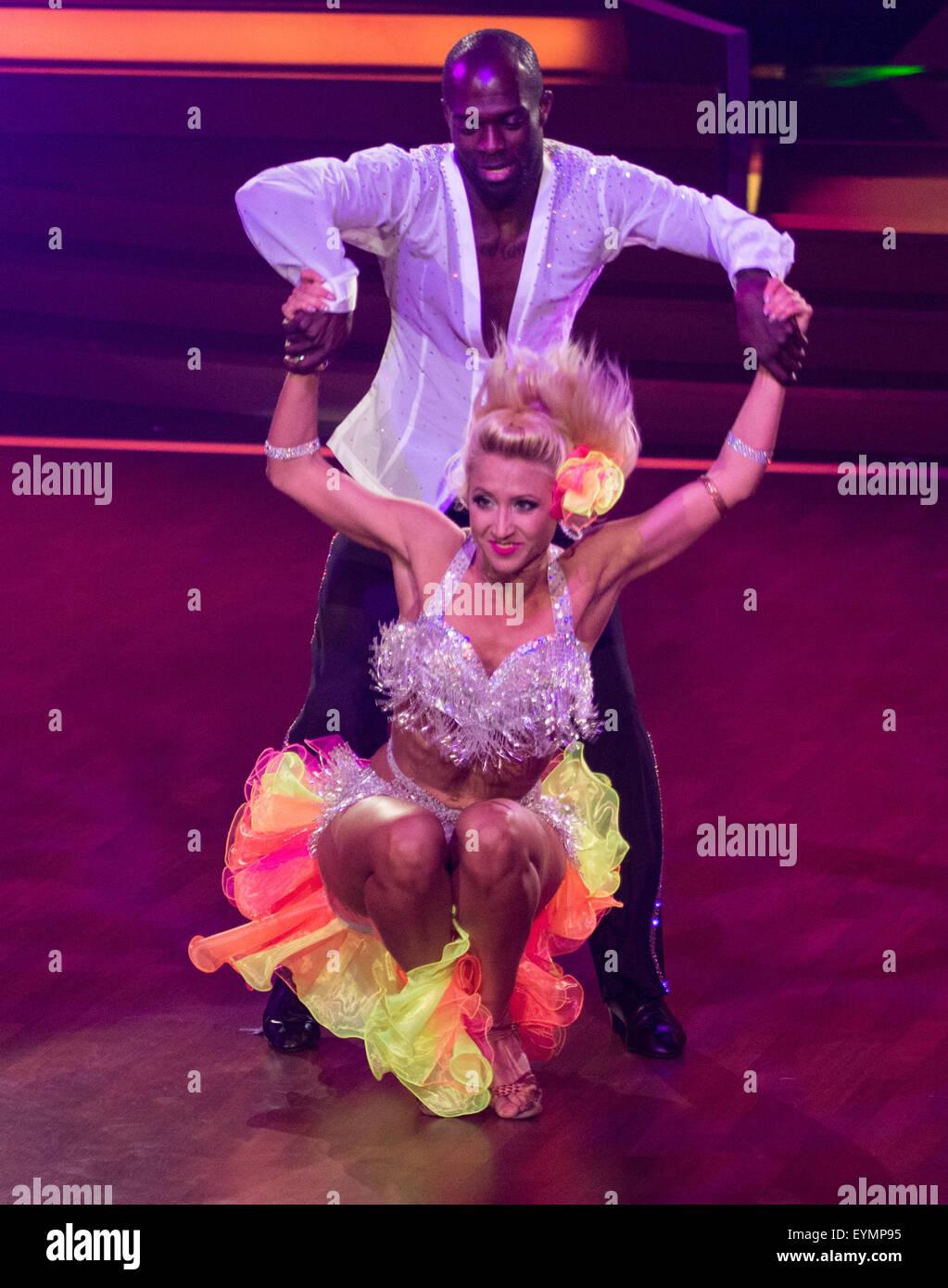 Deutsche Rtl Tv Show Let S Dance Am Coloneum Featuring Hans Sarpei