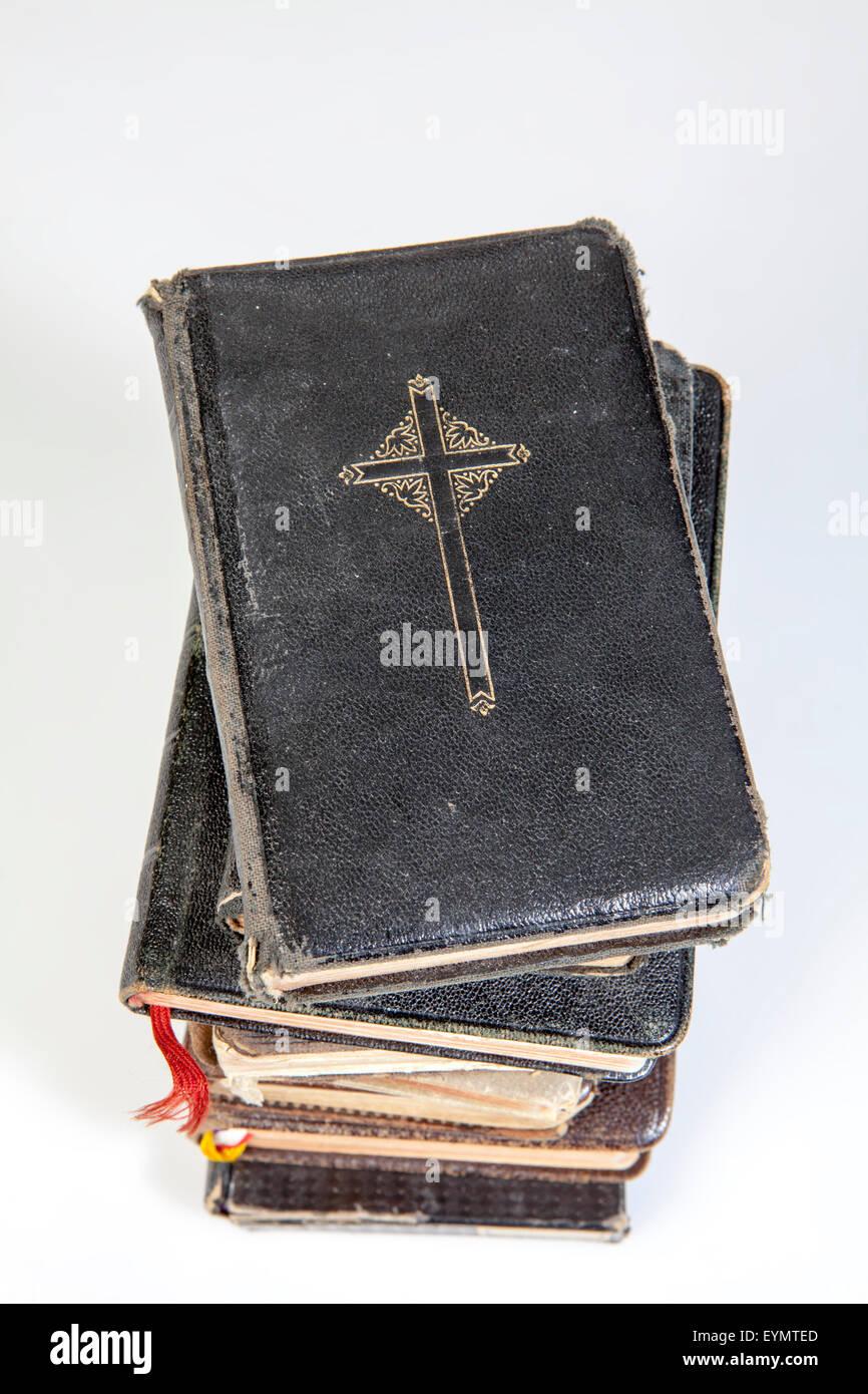 Alt-katholischen Gebetbücher Stockbild