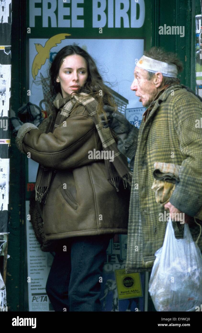 Twelve Monkeys; Baujahr: 1995 USA; Regie: Terry Gilliam; Madeleine Stowe; Foto: Phil Caruso Stockbild