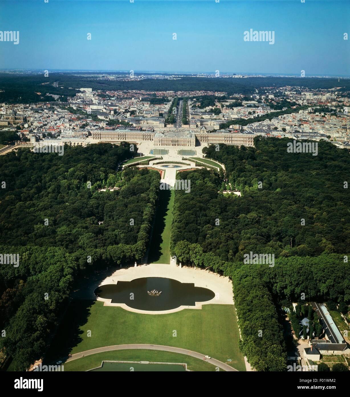 Versailles Luftbild