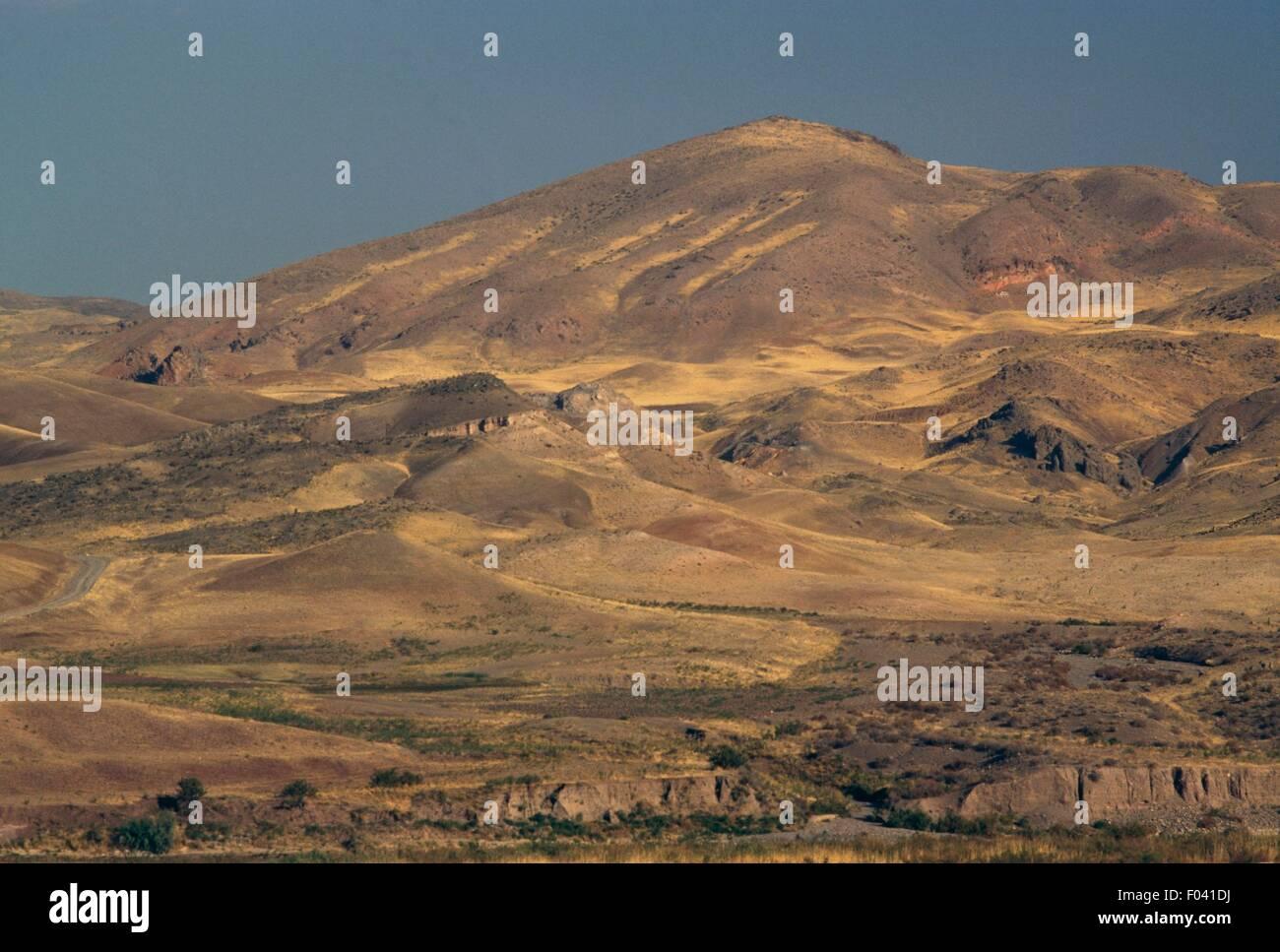 Landschaft Iranischen Aserbaidschan Iran Stockfotografie Alamy