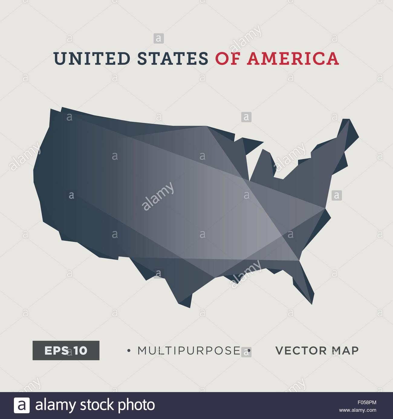 Usa Vector Logo Design Template Stockfotos & Usa Vector Logo Design ...