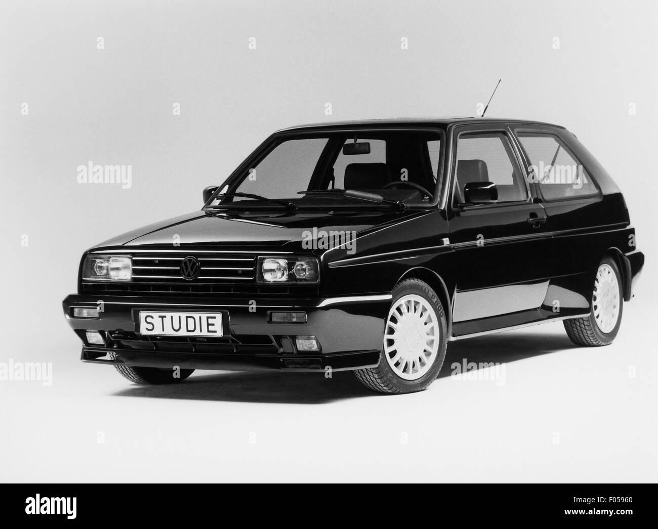 Verkehr/Transport, Auto, Fahrzeug Varianten, Volkswagen, VW Golf Konzeptfahrzeug, 1980er Jahre, Additional-Rights Stockbild