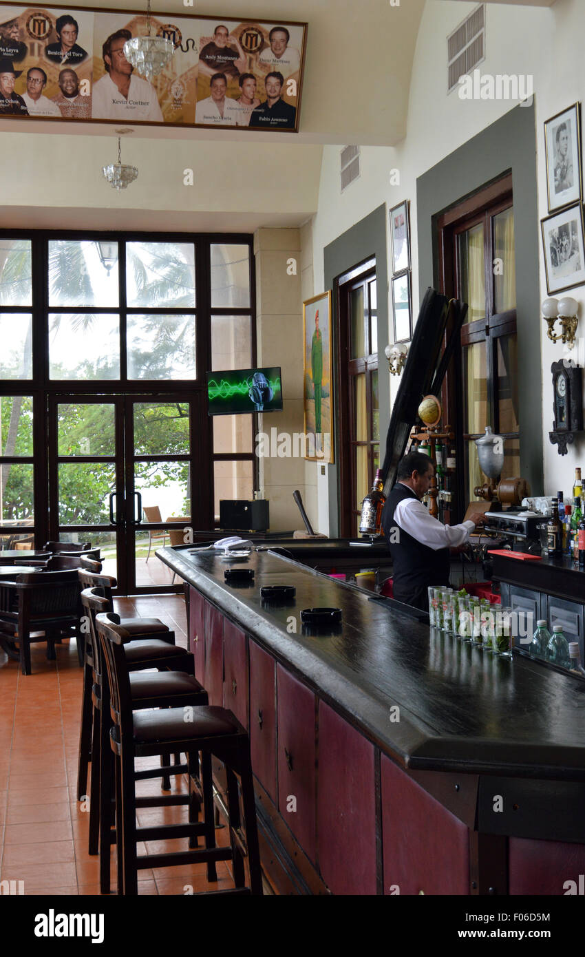 Havanna, Kuba: Bar des Hotel Nacional Stockbild