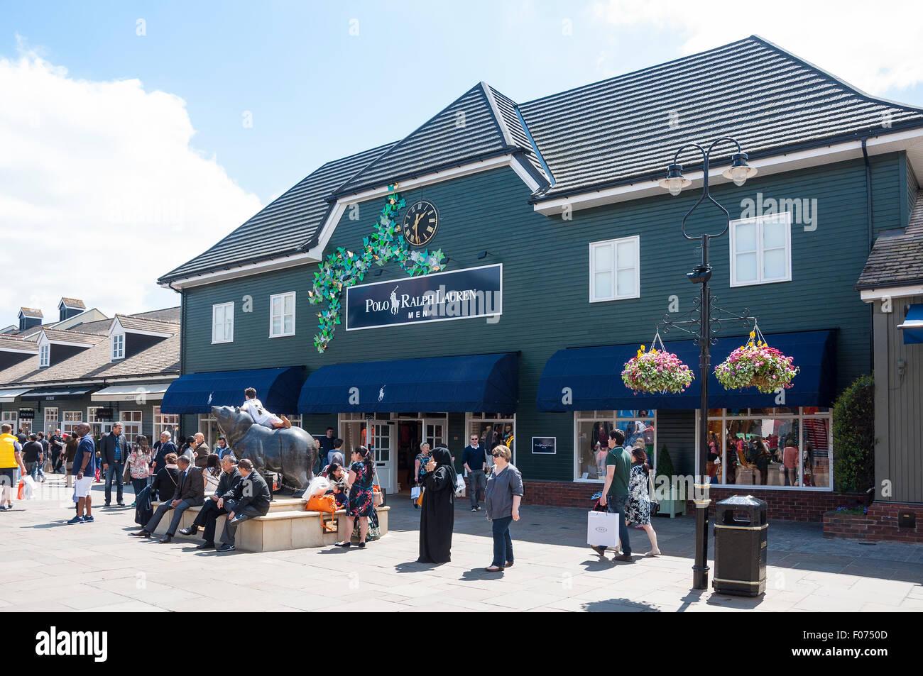 Polo Ralph Lauren Designer store am Bicester Village Outlet Shopping  Centre, Bicester, Oxfordshire, 7da4bc44c2