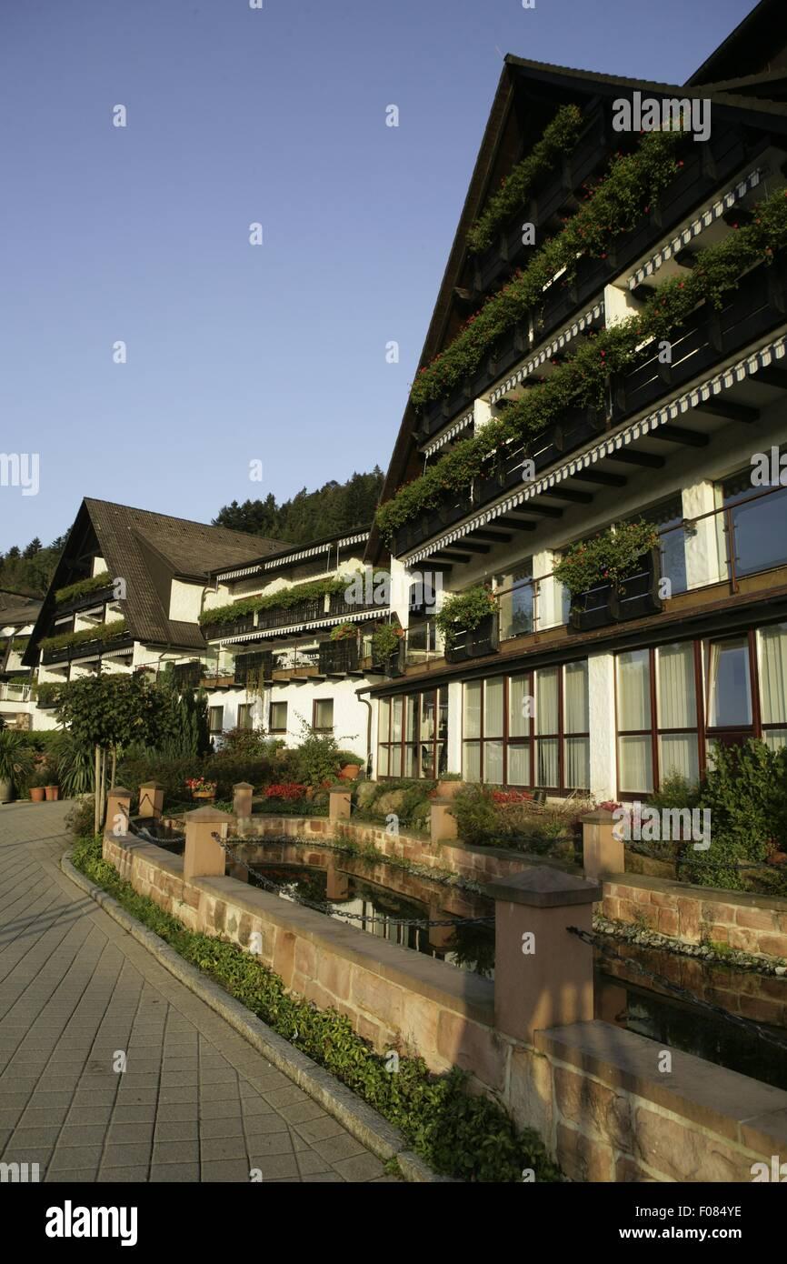 Blick Auf Hotel Dollenberg In Bad Peterstal Baden Wurttemberg