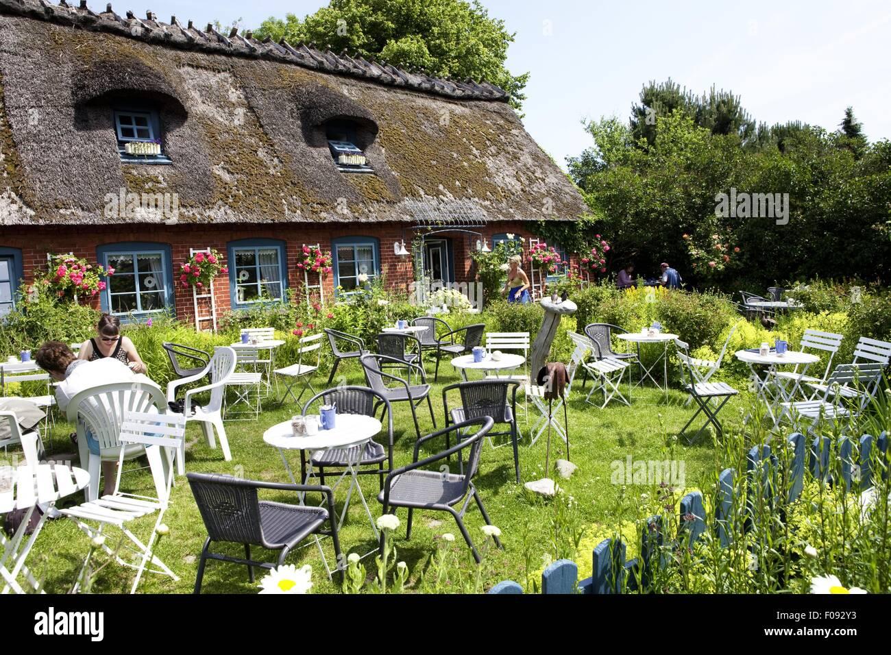 cafe atrium in geltinger birk schleswig holstein deutschland stockfoto bild 86251735 alamy. Black Bedroom Furniture Sets. Home Design Ideas