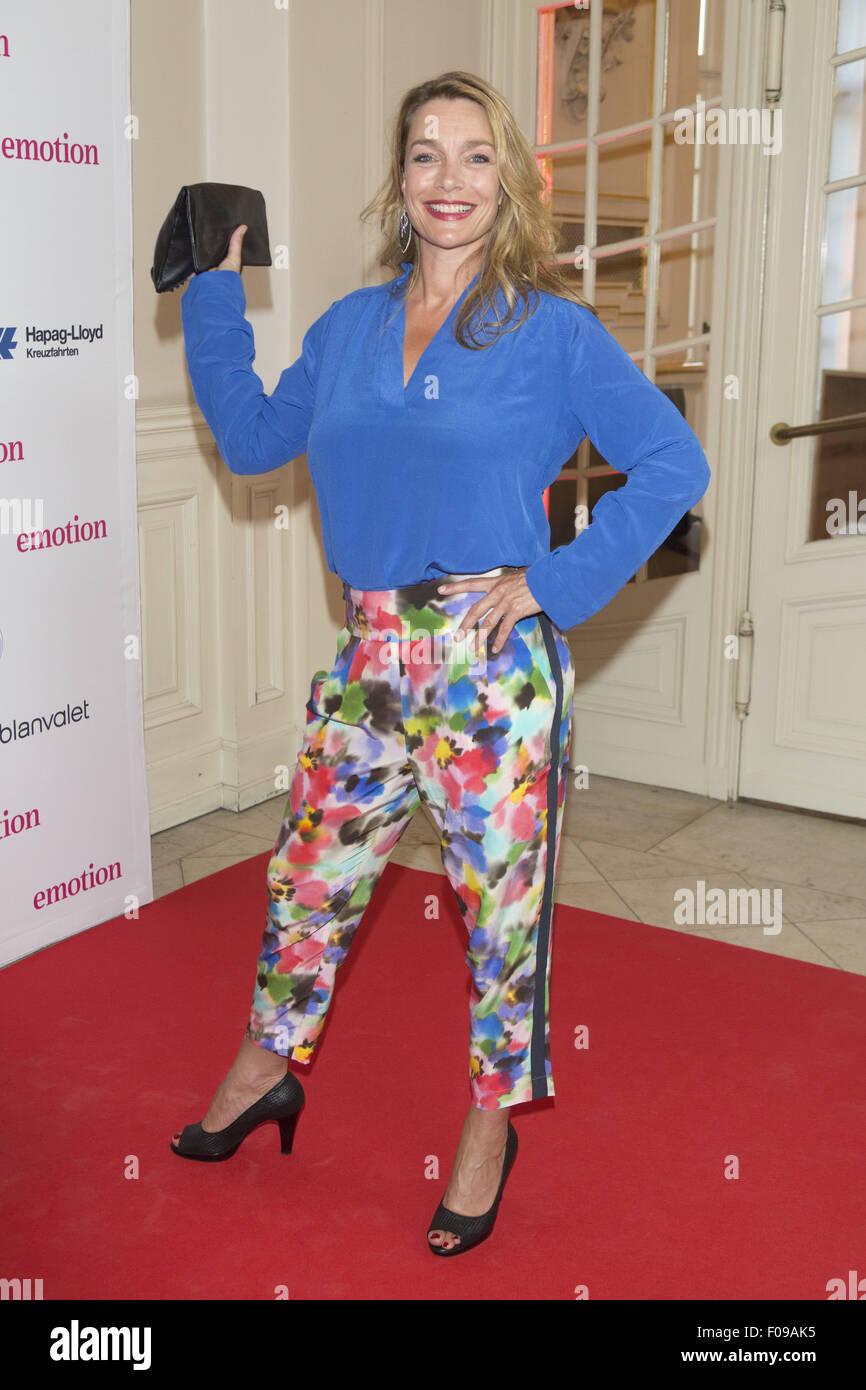 Emotion Award 2015 mit der Laeiszhalle: Aglaia Szyszkowitz wo: Hamburg, Deutschland bei: 9. Juni 2015 Stockfoto