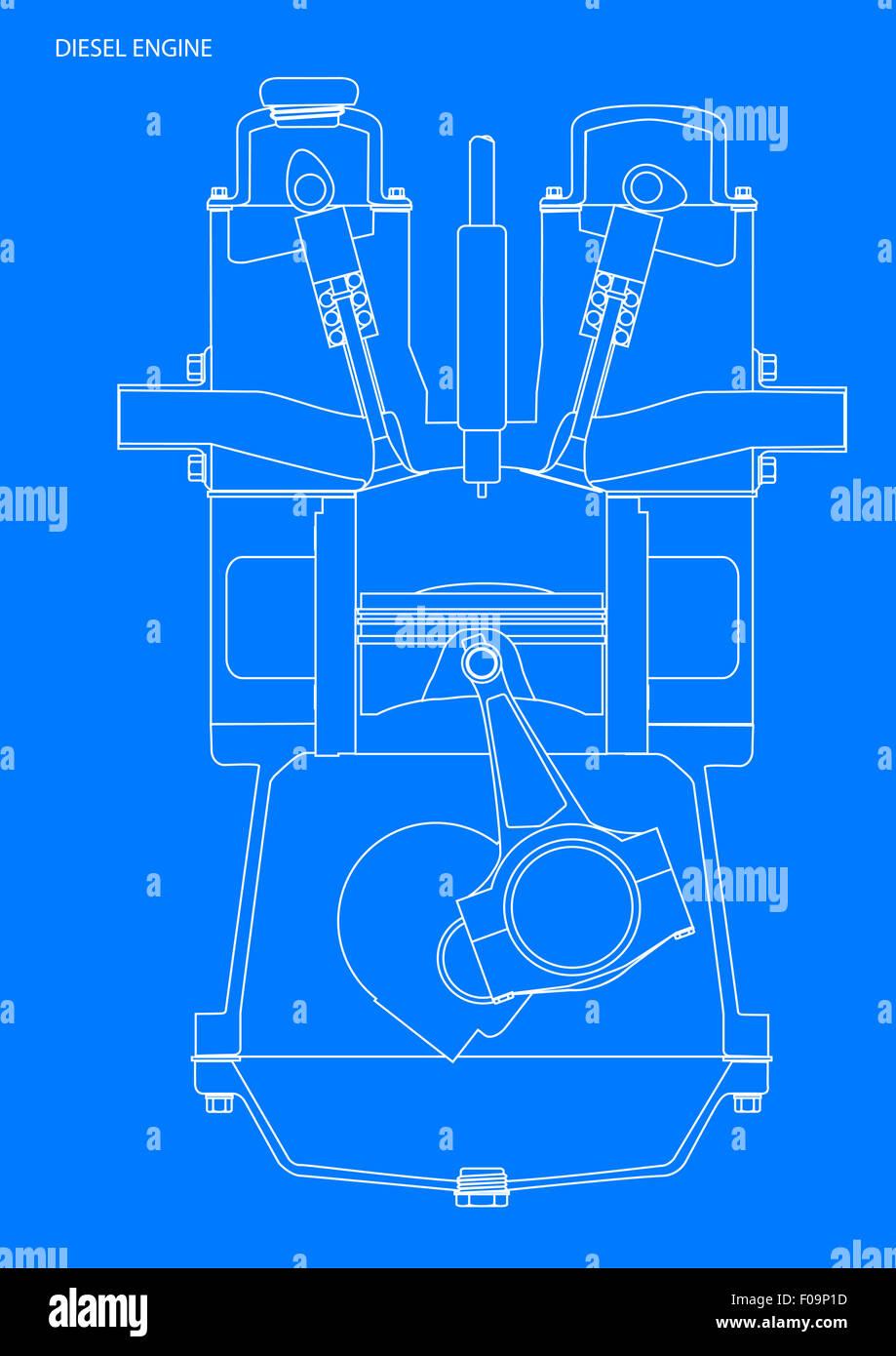 Charmant Dieselmotor Schaltplan Fotos - Elektrische Schaltplan-Ideen ...