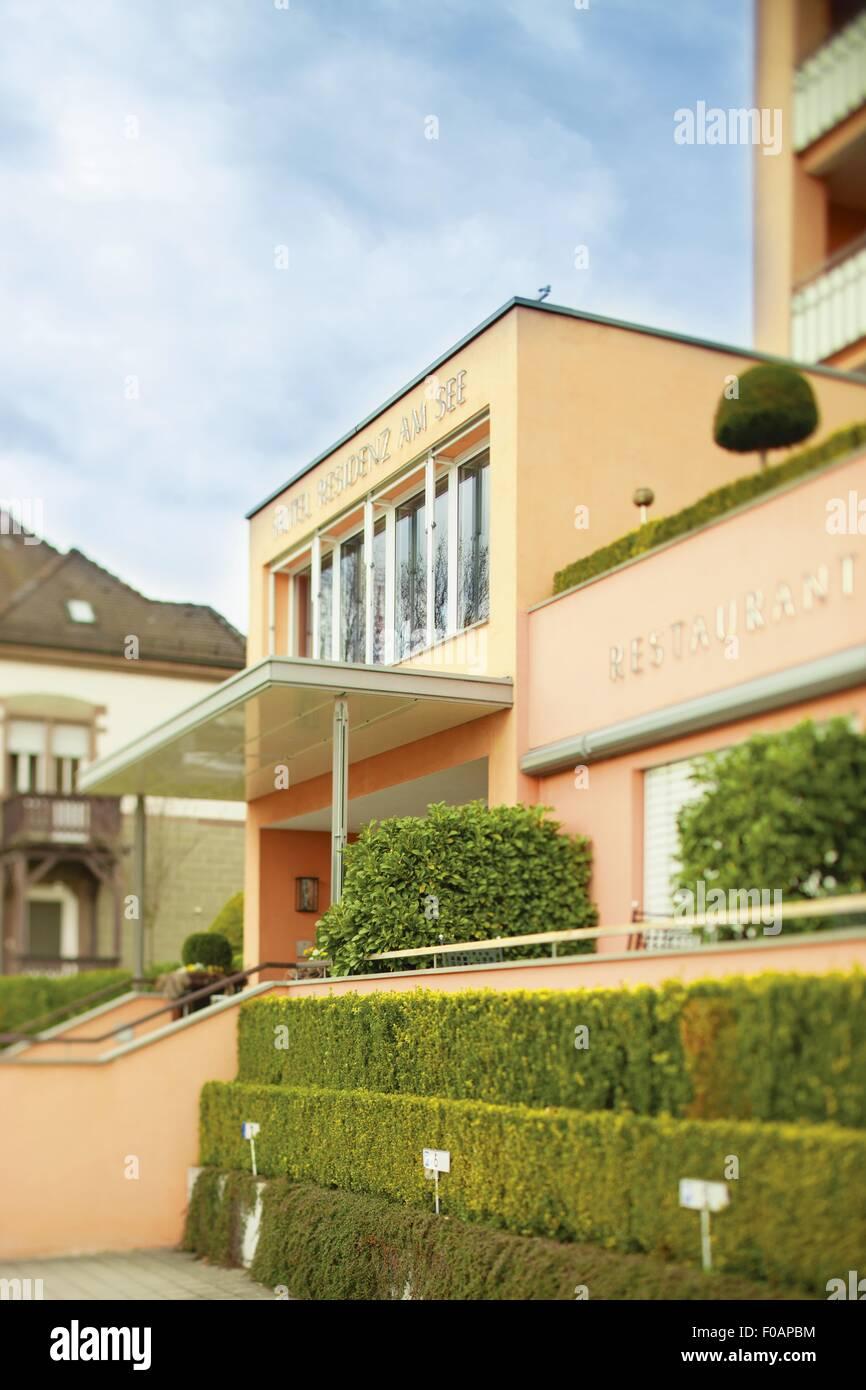 Romantik Hotel Residenz am See, Deutschland Stockbild