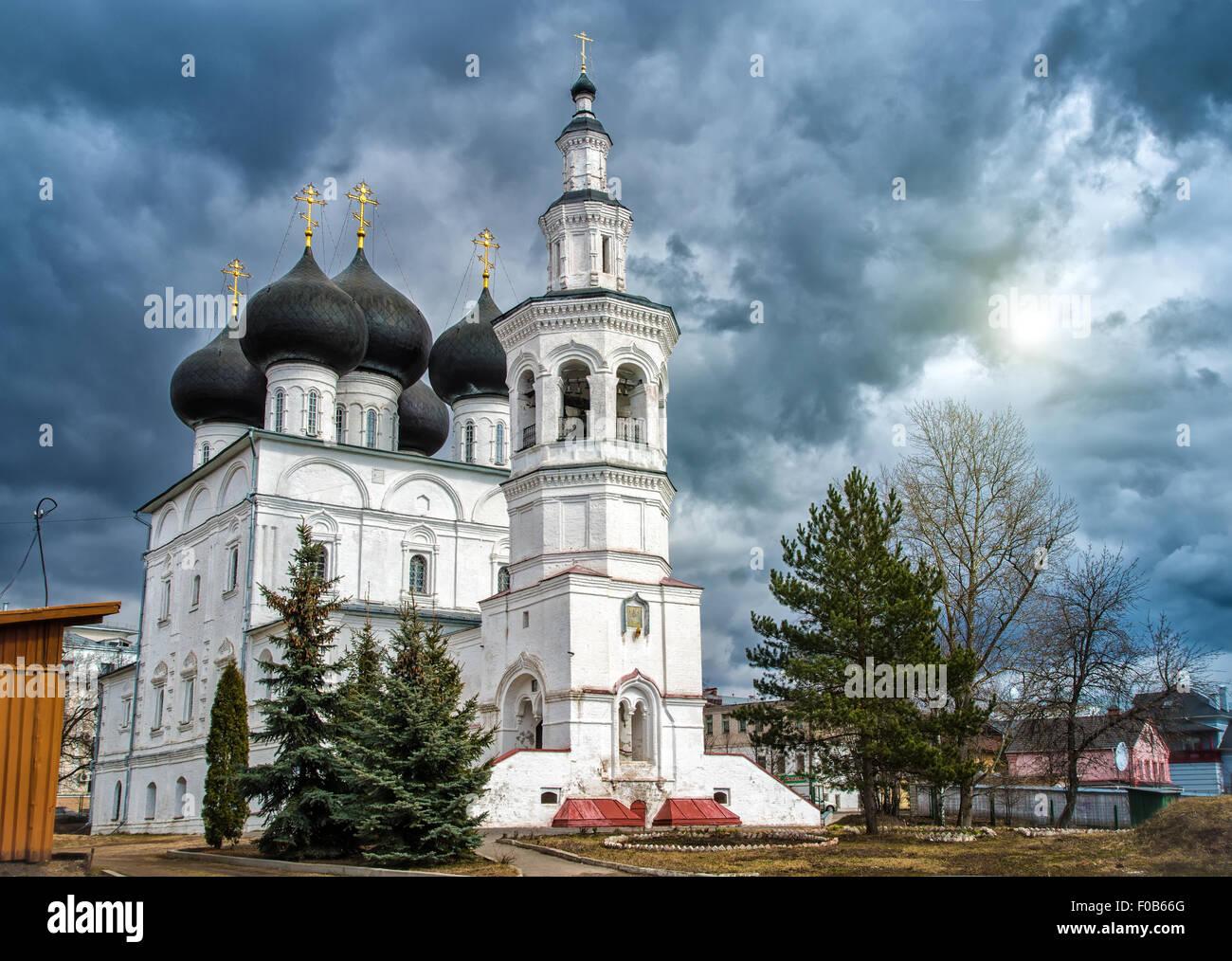 Kirche St. Nikolaus in der Stadt Vologda. Russland Stockbild