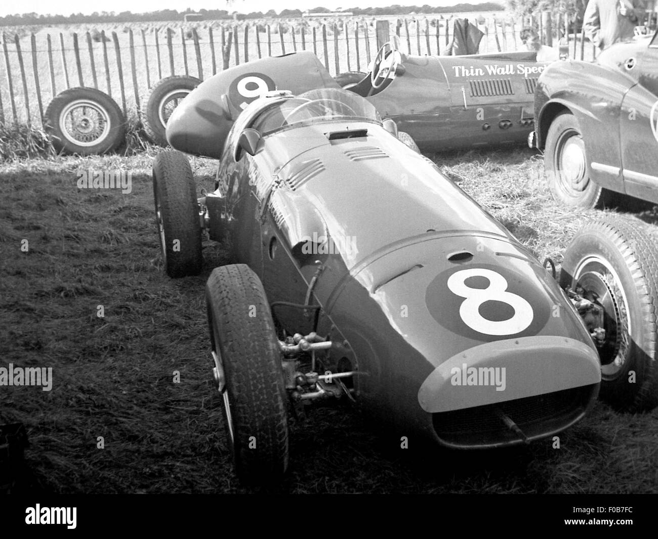 Glover Trophy in Goodwood 1955 Stockbild