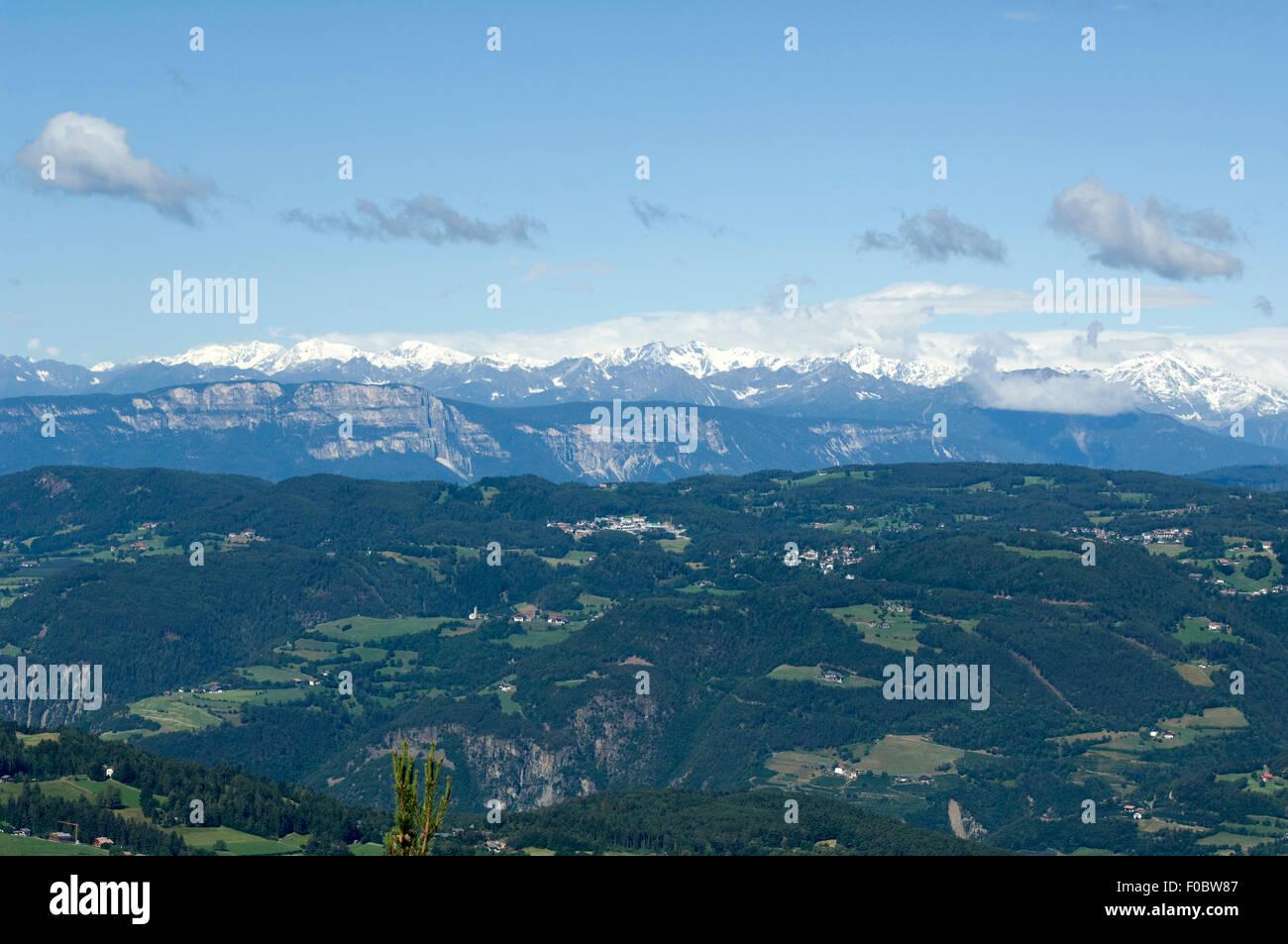 Ötztaler; Alpen; Seiser; Alm; Blick, Zillertaler Stockbild