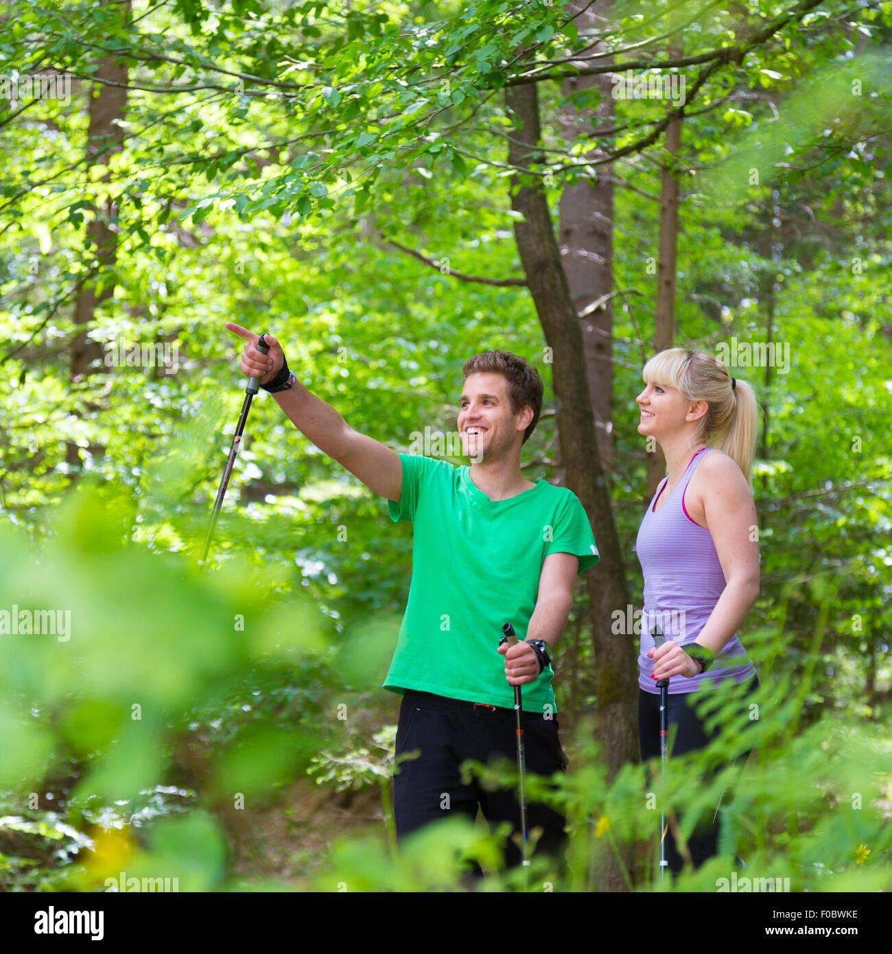 Lebensstil in der Natur. Stockbild