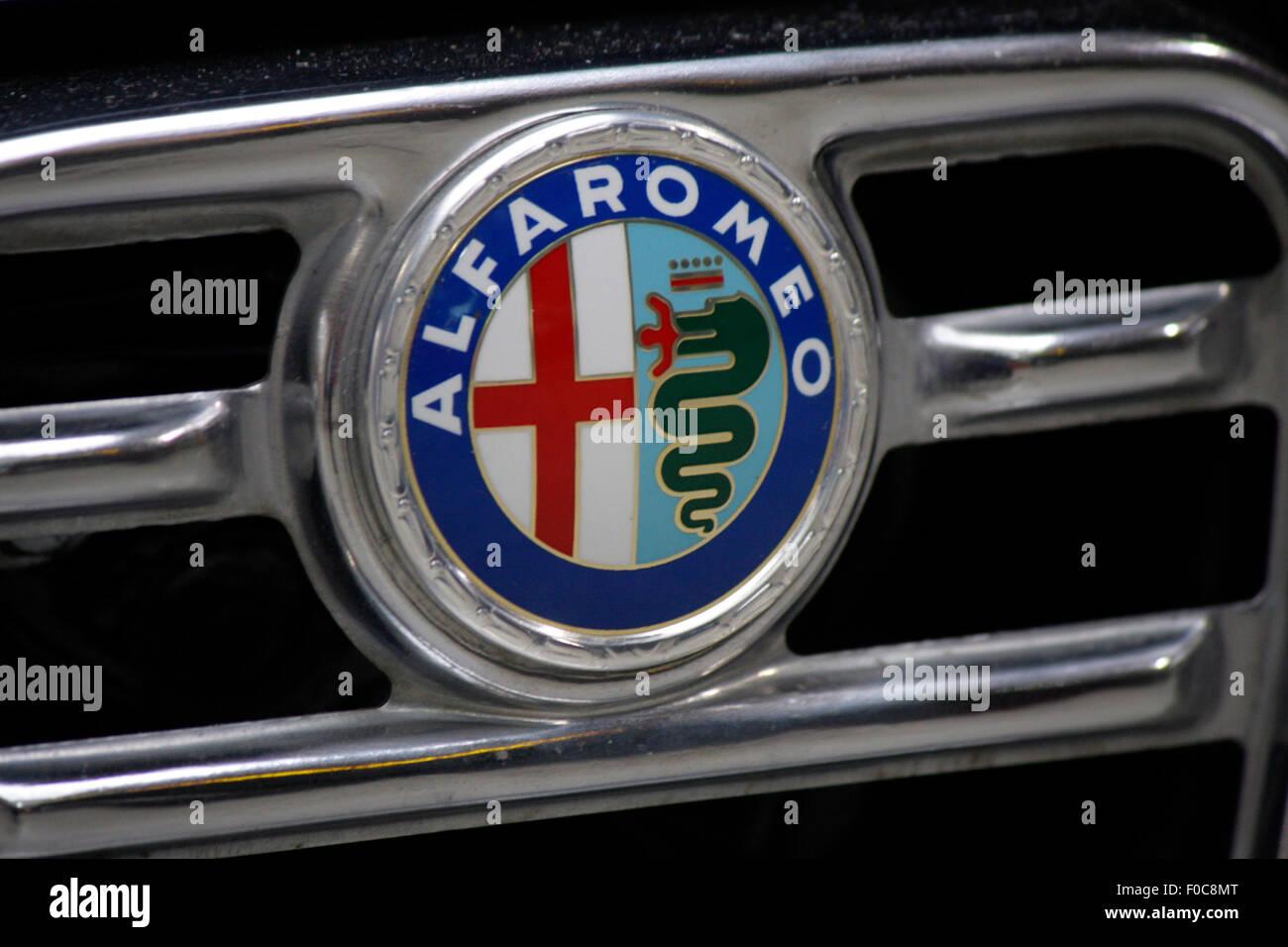 """Markenname: """"Alfa Romeo"""", Dezember 2013, Berli. Stockbild"""