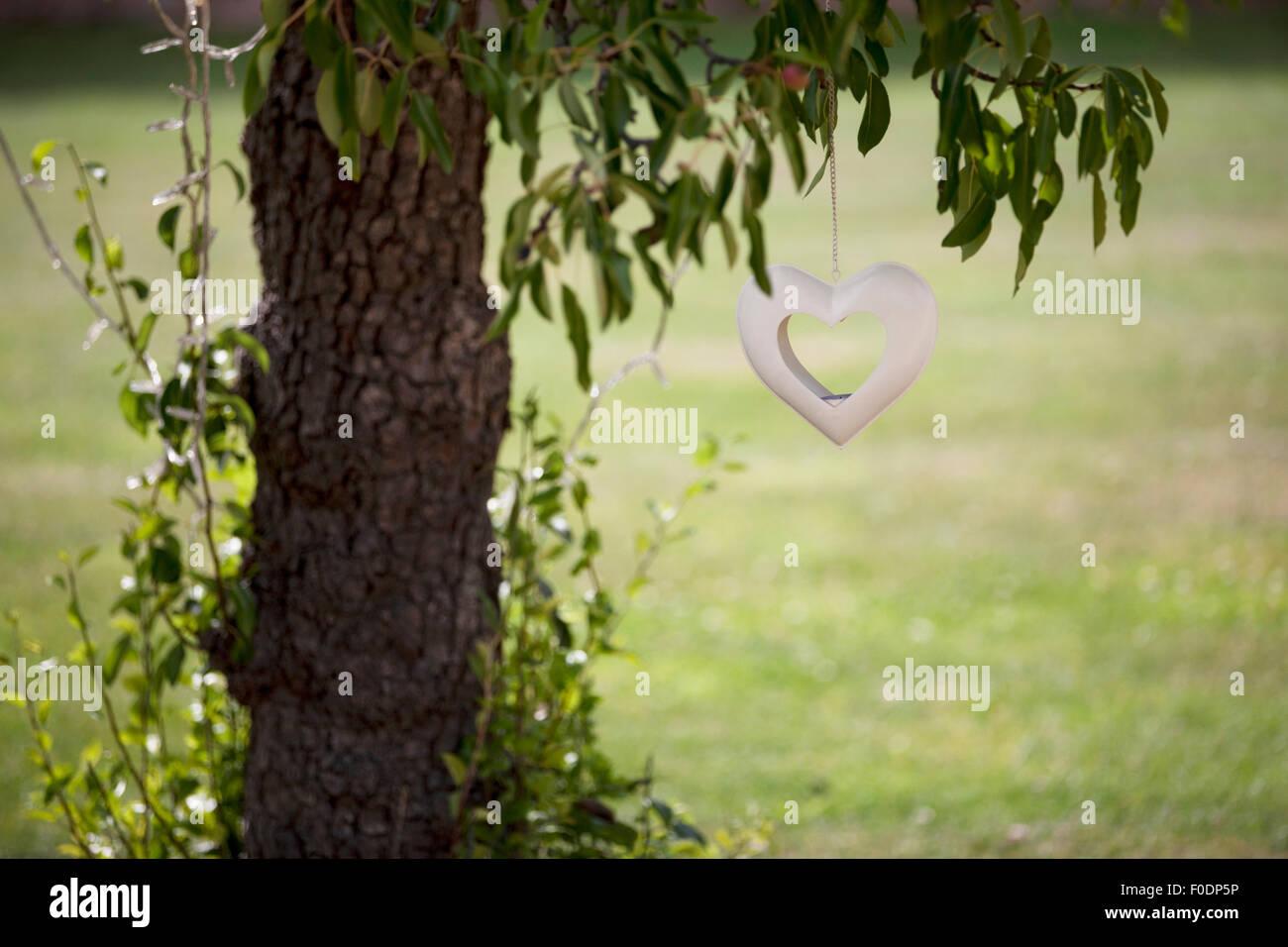 Heart Candle Holder Stockfotos & Heart Candle Holder Bilder - Alamy