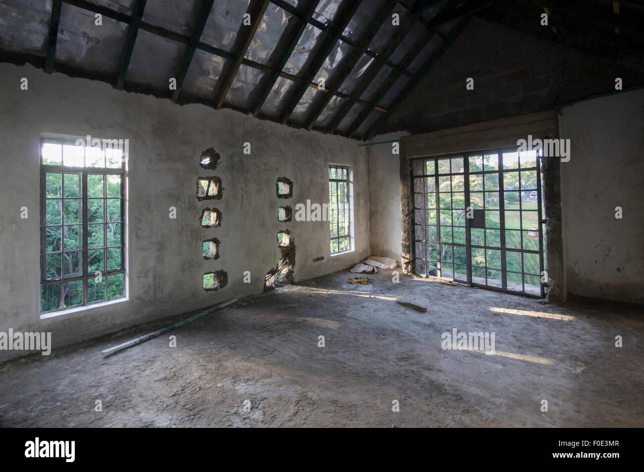 Wohnungsbau-Nairobi Stockbild