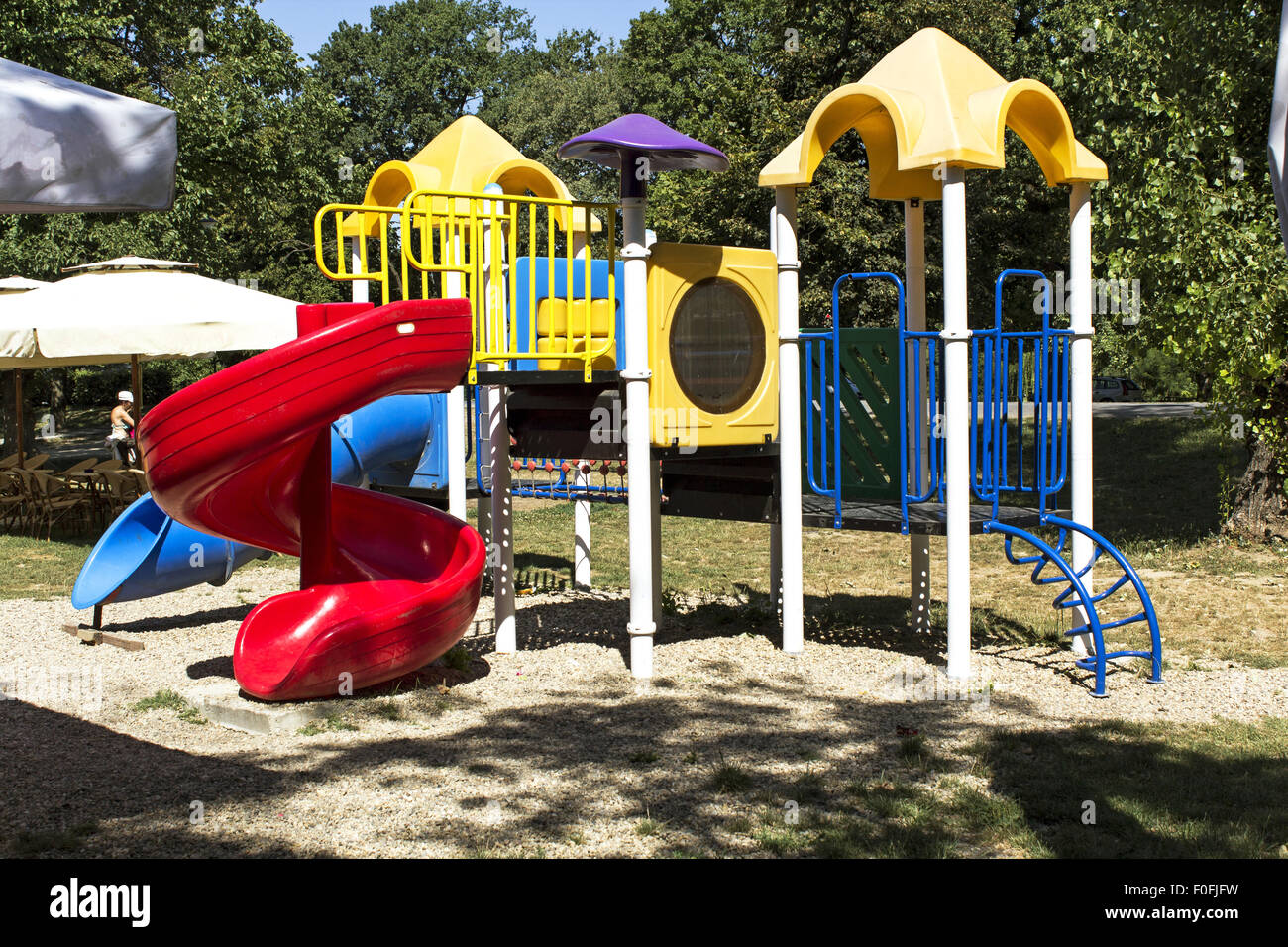 Klettergerüst Jungle : Jungle gym im park stockfoto bild: 86395677 alamy