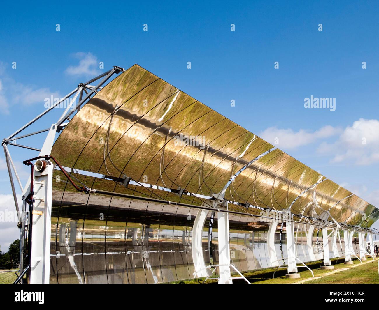 Erforschung alternativer Energien Stockbild