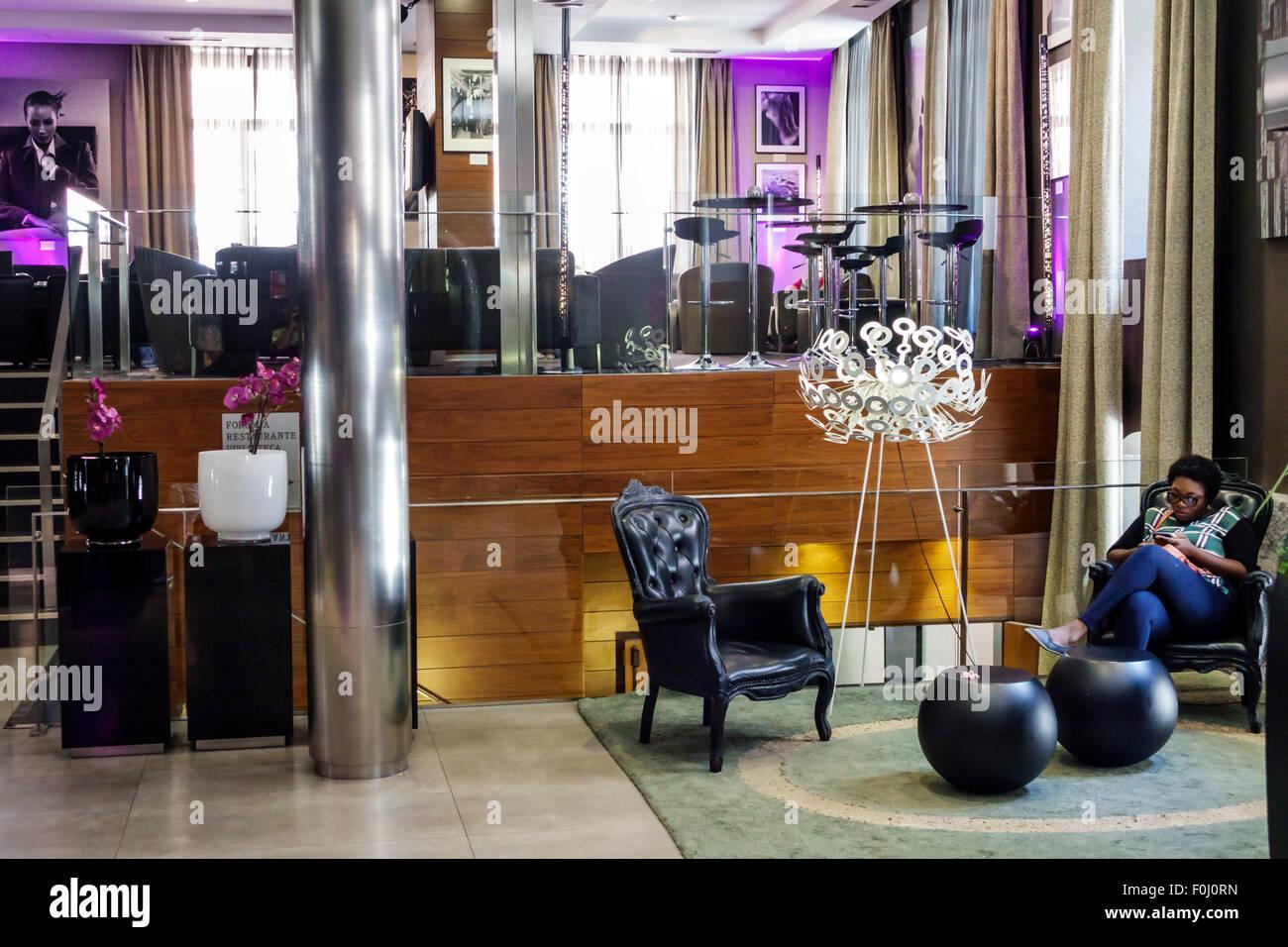 Madrid Spanien Europa Spanisch Salamanca Recoletos Ac Hotel