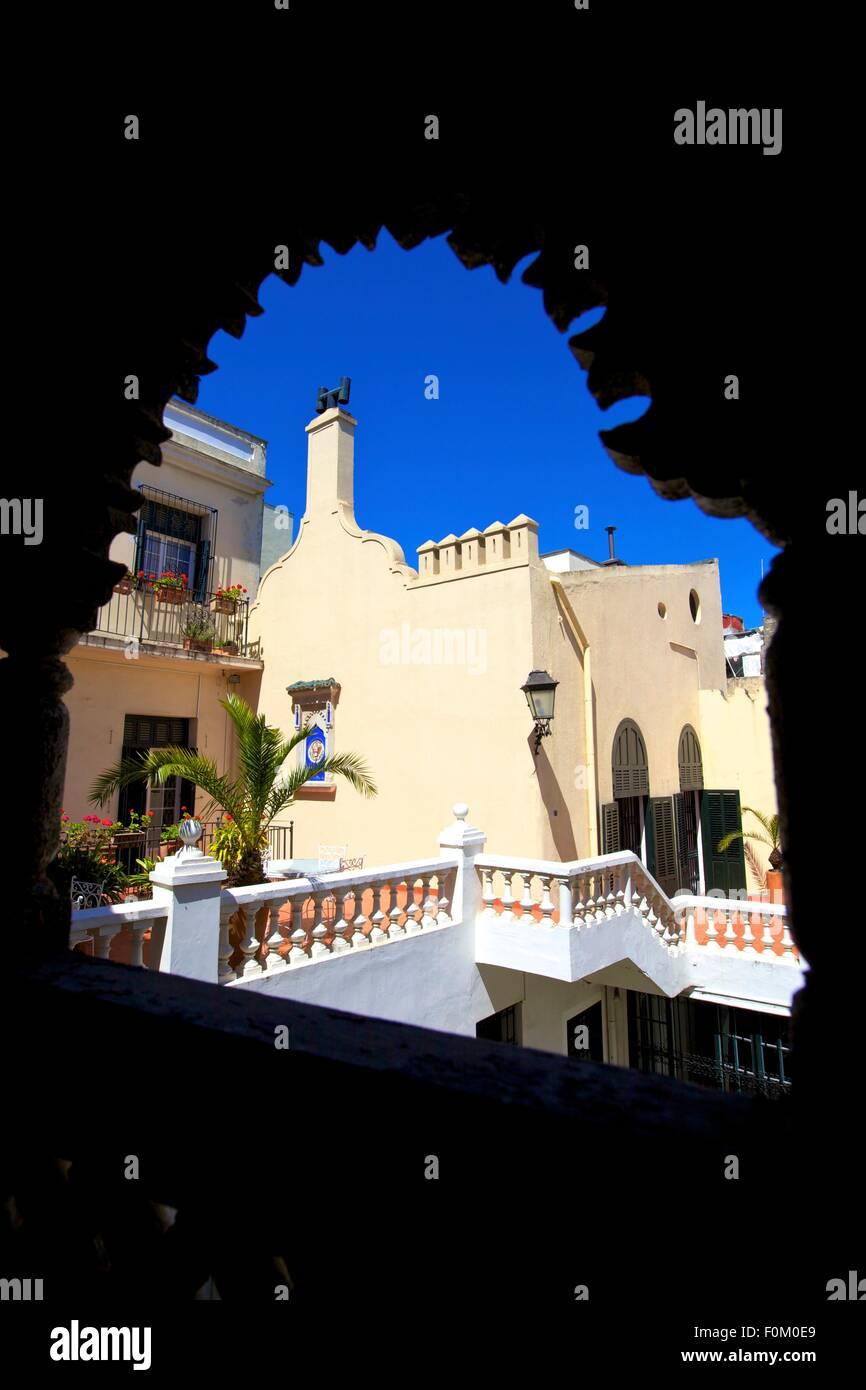 Amerikanischen Gesandtschaft, Tanger, Marokko, Nordafrika Stockbild