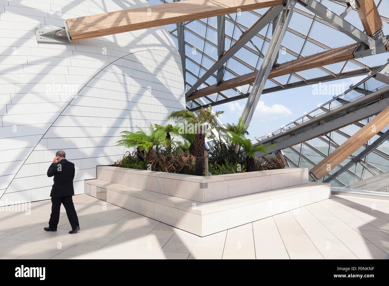 Fondation Louis Vuitton, Bois De Boulogne, Paris, Frankreich ...