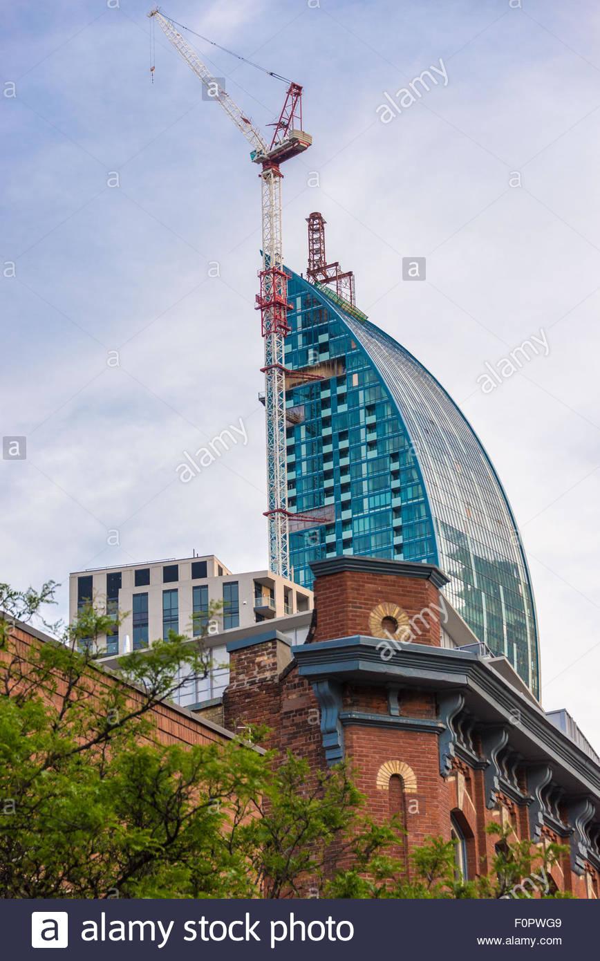 Der L Turm Ist Die Entwicklung Von Leben Im 21 Jahrhundert Ein
