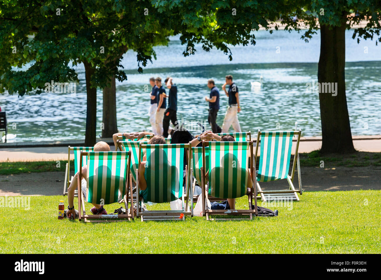 London, Hyde Park Stockbild