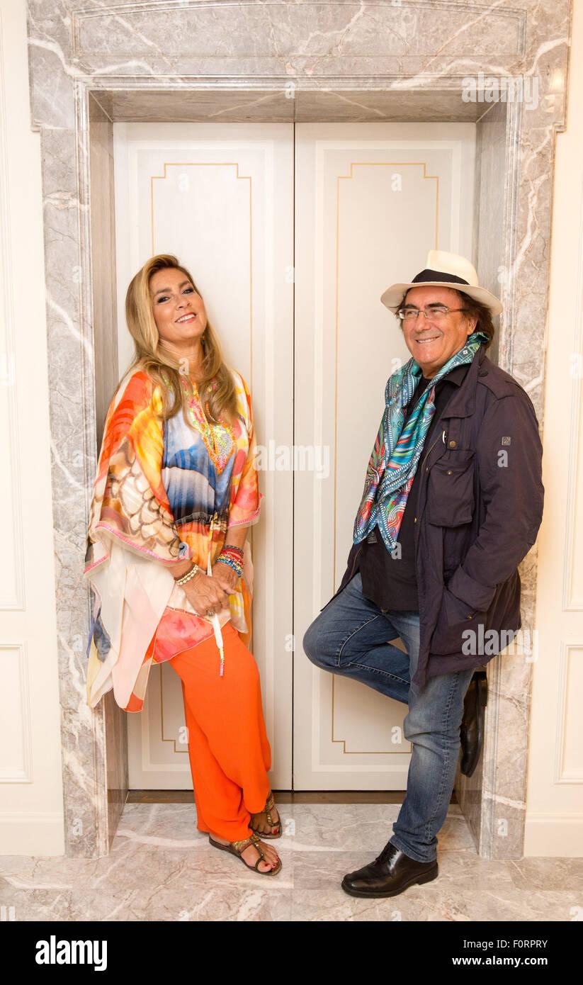 Italienische duo singen dar al bano und romina power in for Al bano und romina