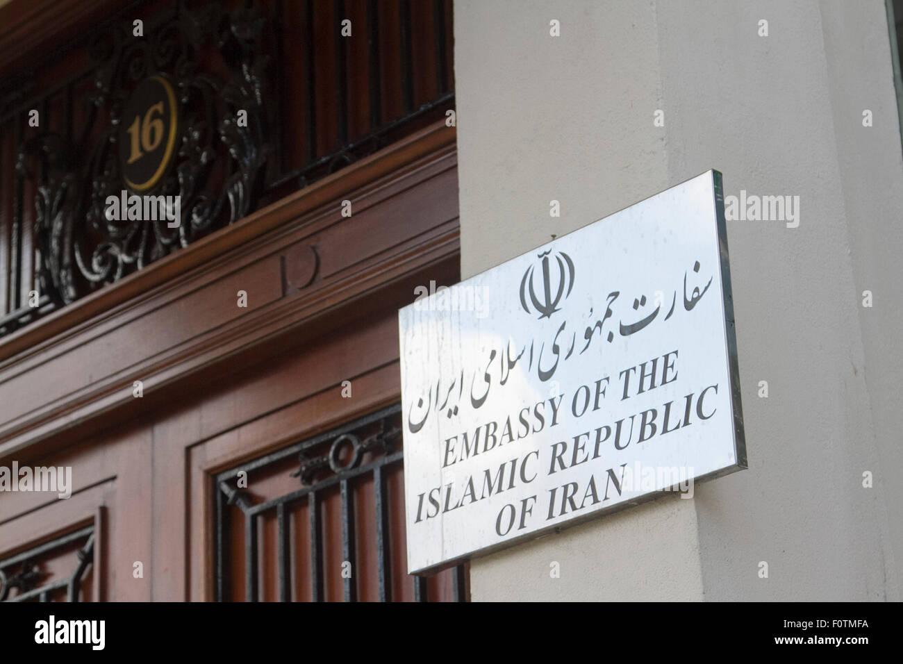 Iranische Datierung in London