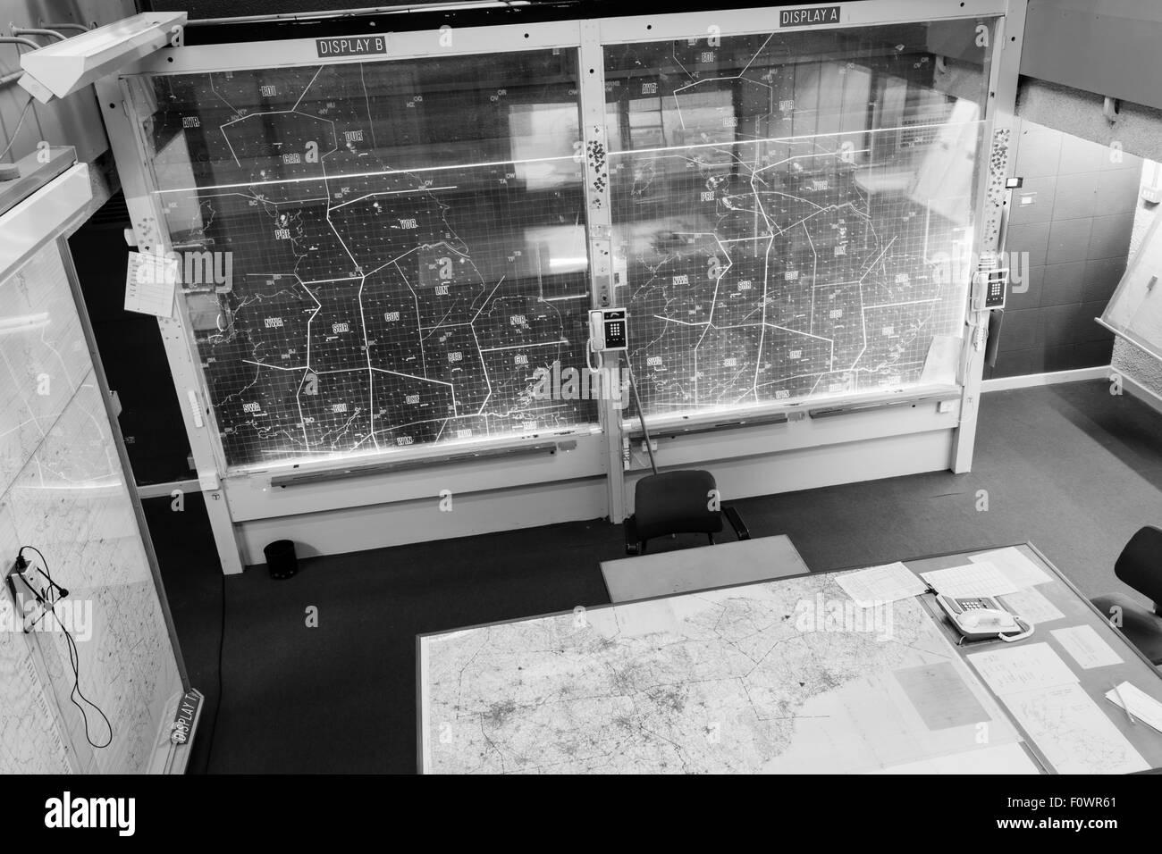 York kalten Krieges Bunker Stockbild