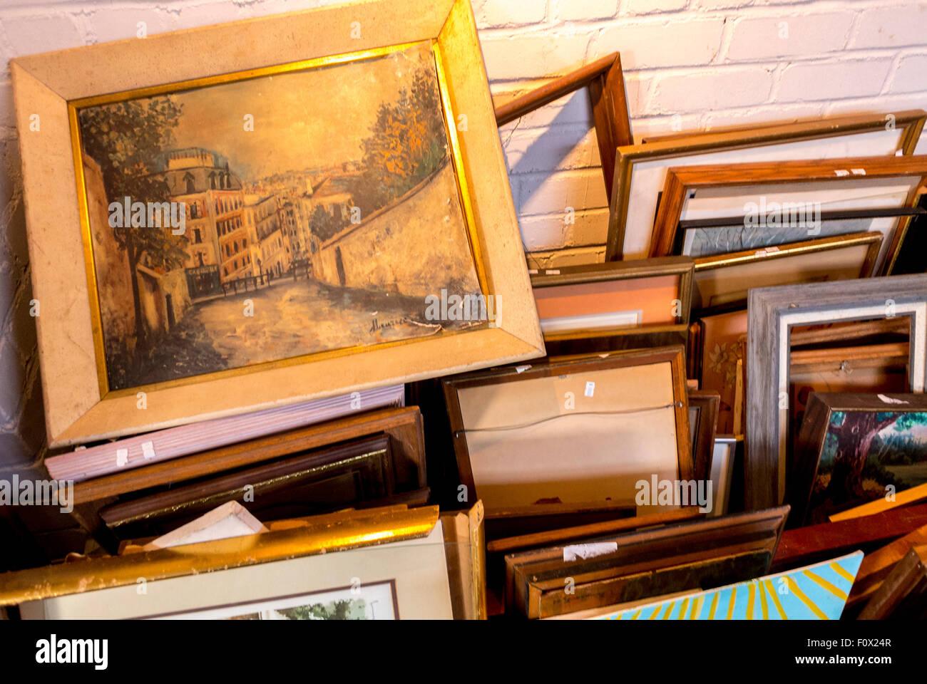 Vintage Frames Stockfotos & Vintage Frames Bilder - Alamy