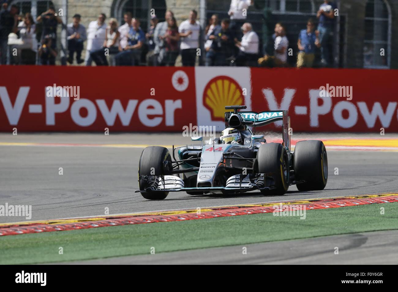 Spa Belgien 23 August 2015 Lewis Hamilton Großbritannien Und