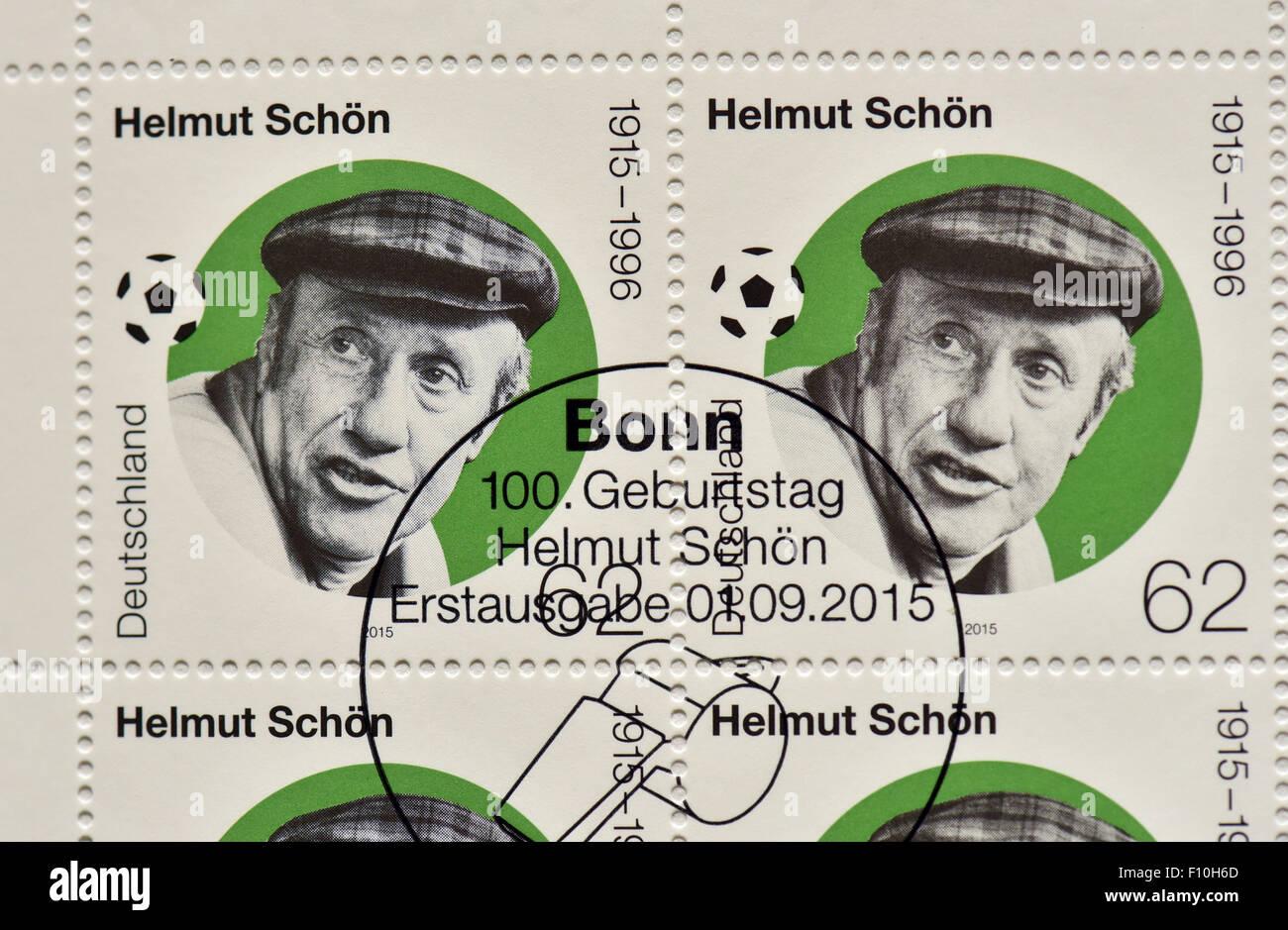 Die Neue Sondermarke 100 Jahre Helmut Schoen Wird Durch Das
