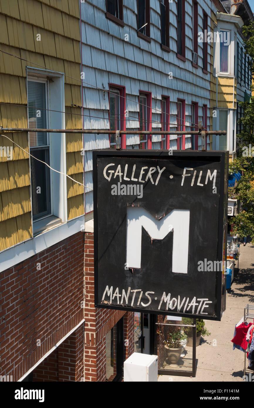 Galerie Pennsylvania PA Harrisburg Stockbild