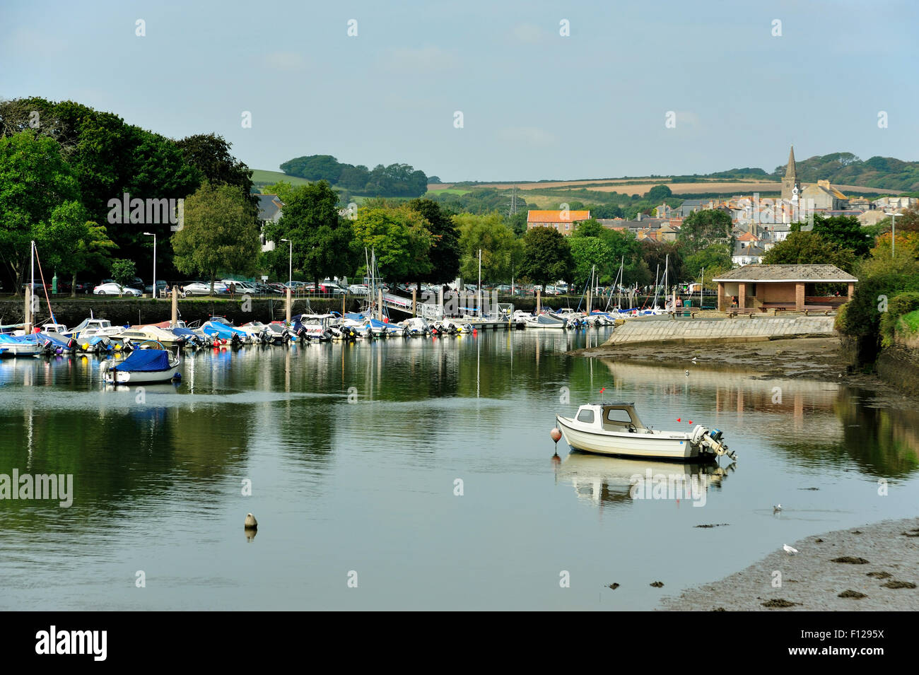 Kingsbridge Devon Stockbild