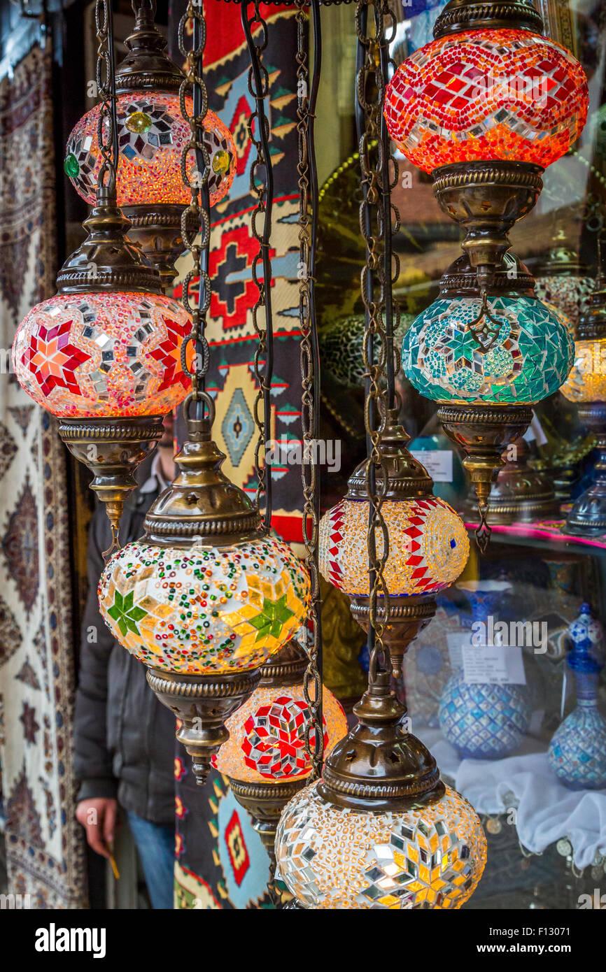 Geschenke auf den Verkauf in der Altstadt von Sarajevo, Bosnien ...