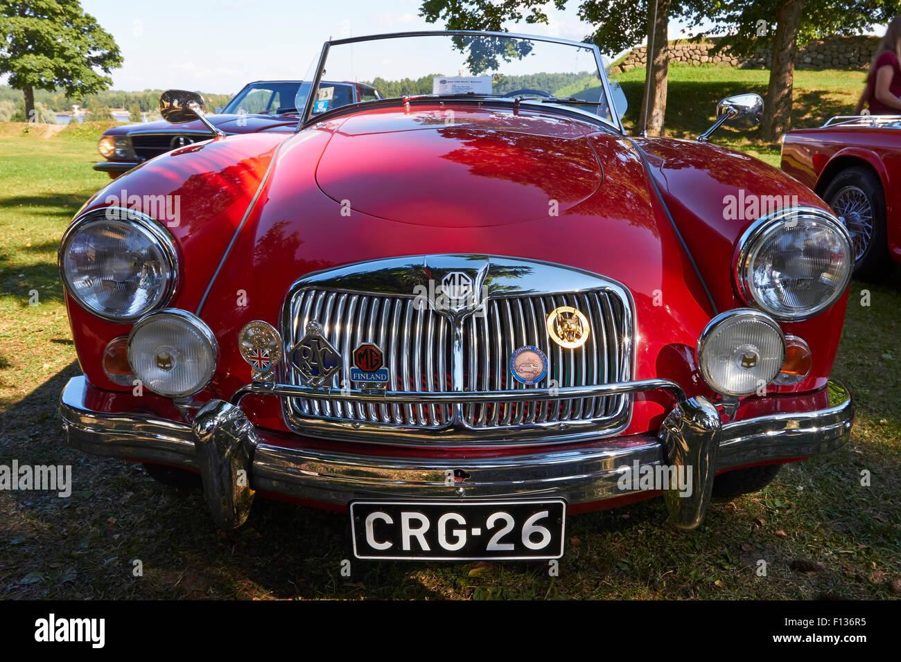 1960 MG MGA 1600 Mark I Roadster Stockbild