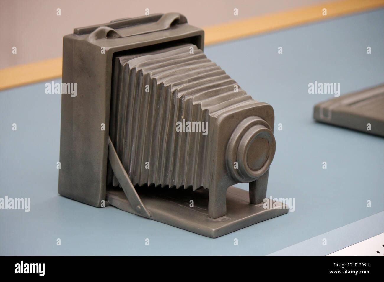 Modell Einer Fotokamera - Deutsches Technikmuseum Berlin-Kreuzberg. Stockbild