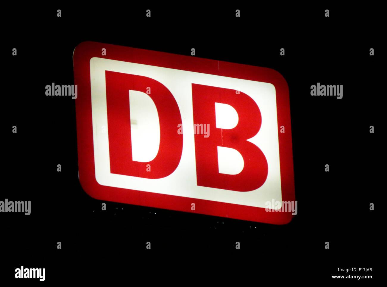"Markennamen: ""Deutsche Bahn"", Berlin. Stockbild"