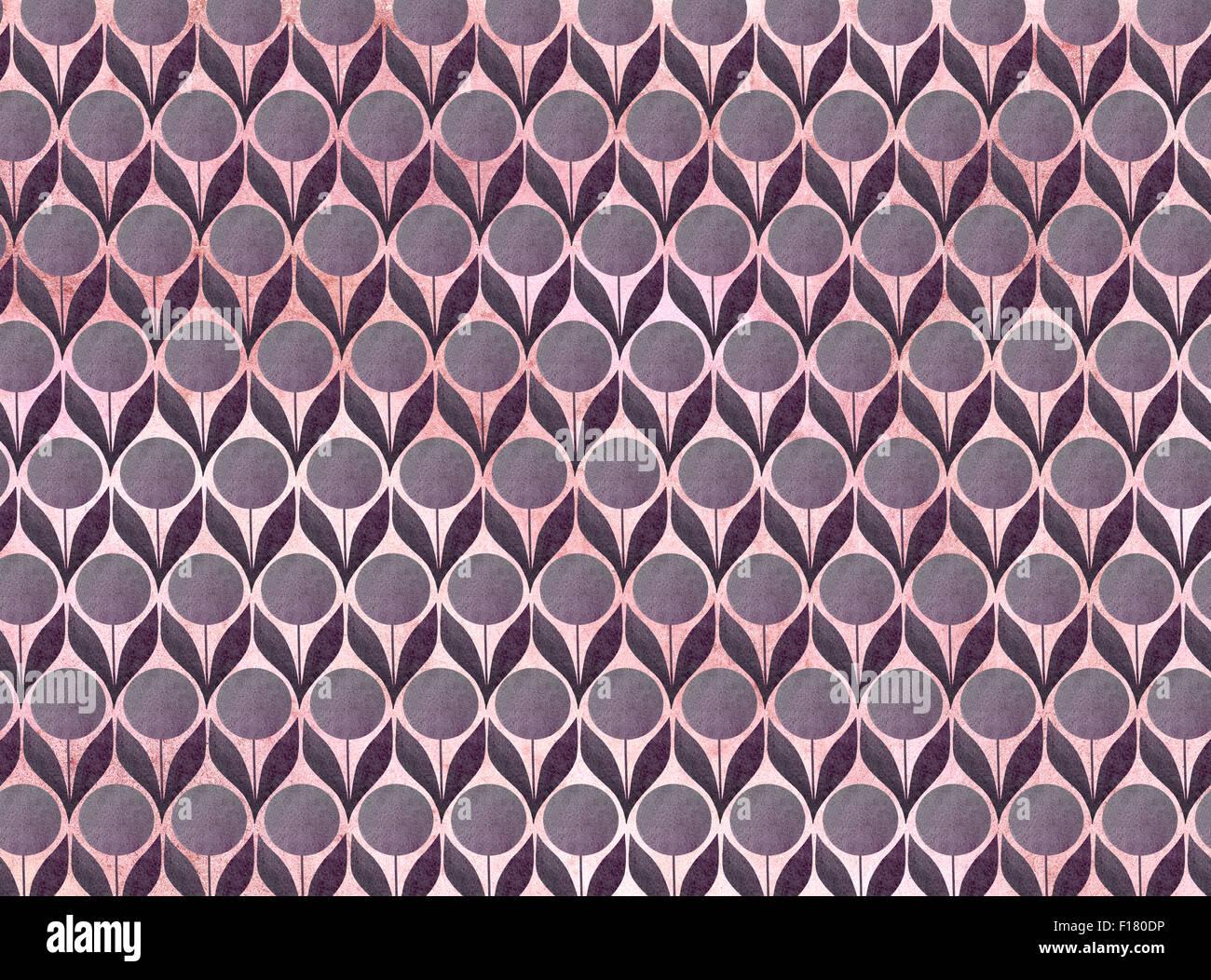 Nahtlose Blume Muster Hintergrund Stockbild