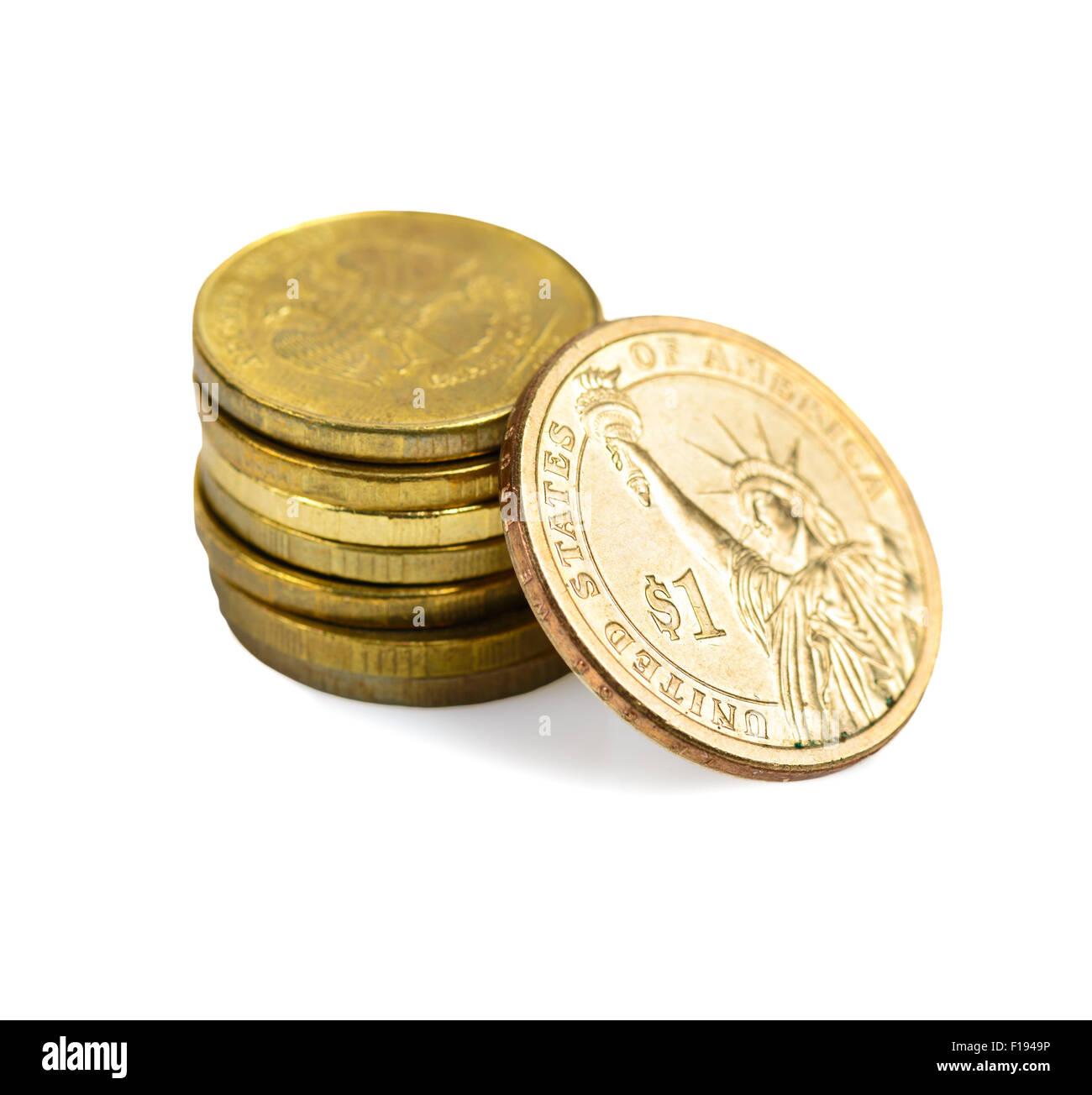 Währungswechselkurse. Jetzt 70 russische Rubel pro 1 US-dollar Stockbild
