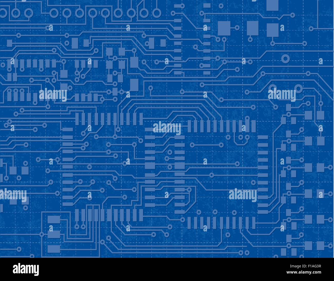 Circuit Board Blueprint Stockfotos & Circuit Board Blueprint Bilder ...