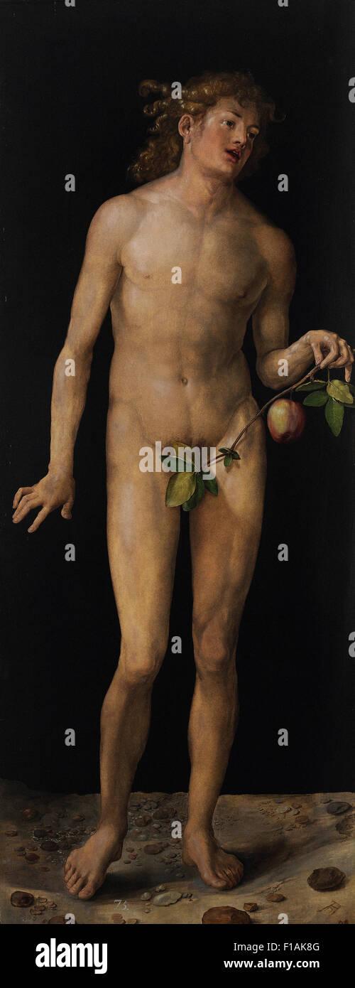 Albrecht Dürer - Adam Stockbild