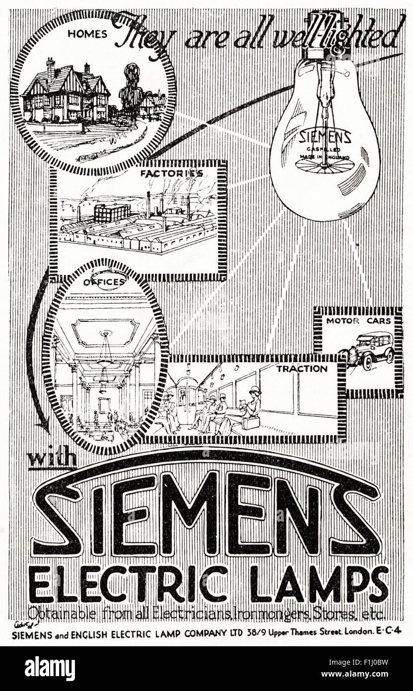 Werbung Anzeige Ceag Gruben Lampen: Anzeige Der 1920er Jahre. Magazin Anzeige Vom 1923 Werbung