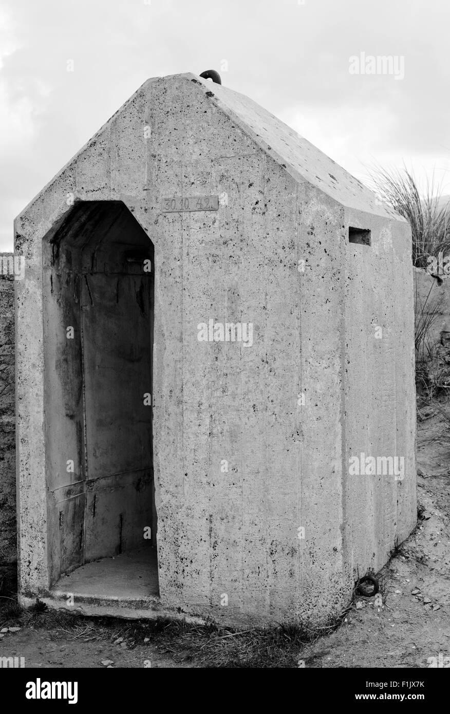 deutschland bunker ww2 utah beach ist eines der f nf. Black Bedroom Furniture Sets. Home Design Ideas