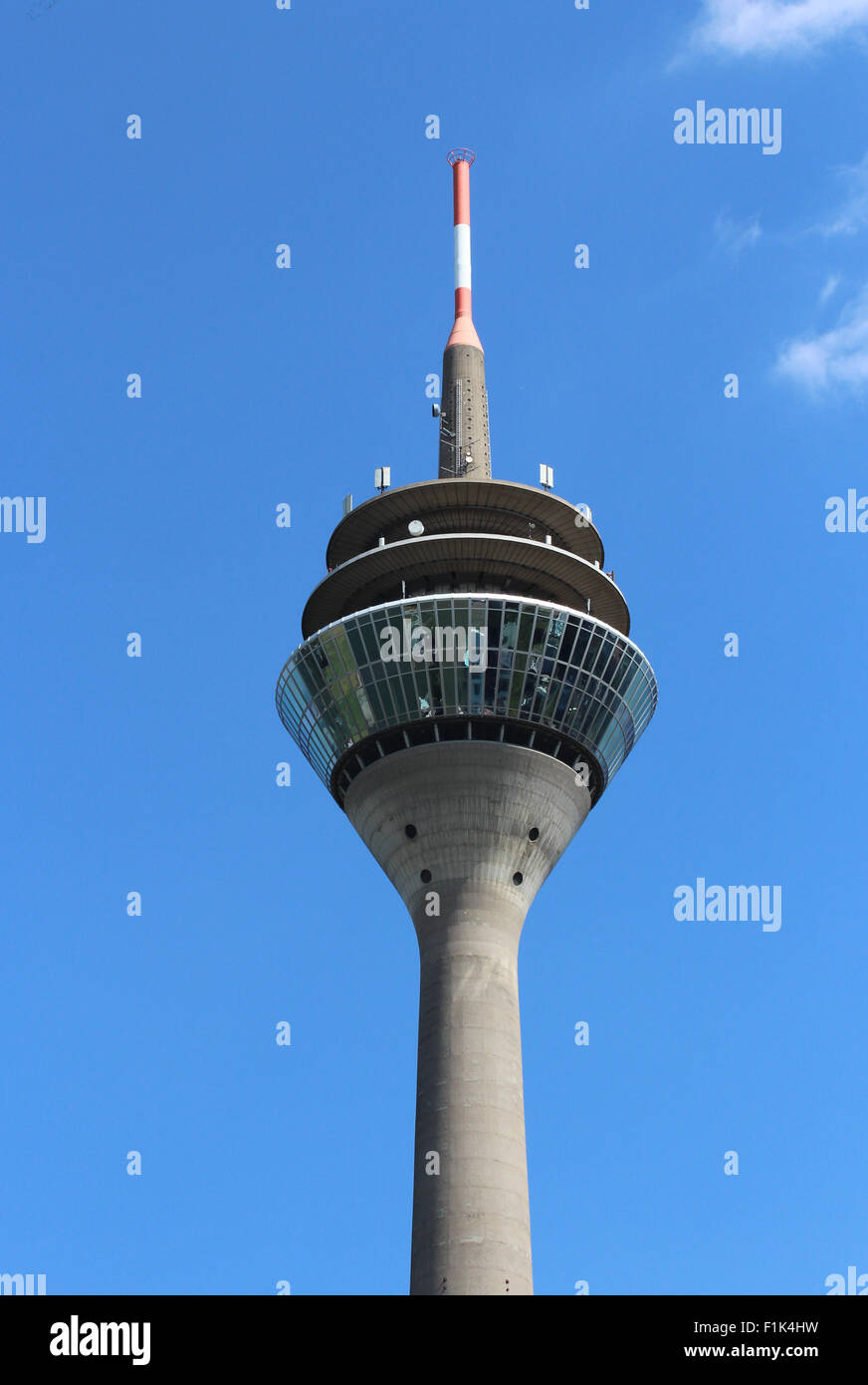 Fernsehturm Düsseldorf Stockbild
