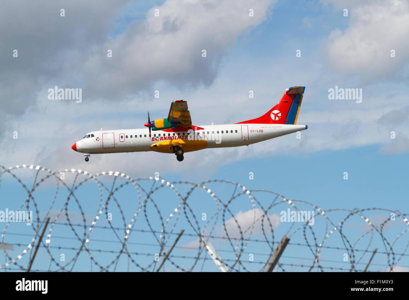 Bornholmerflyet Dk Atr 72 202 Danish Air Transport Dat Oy Lhb