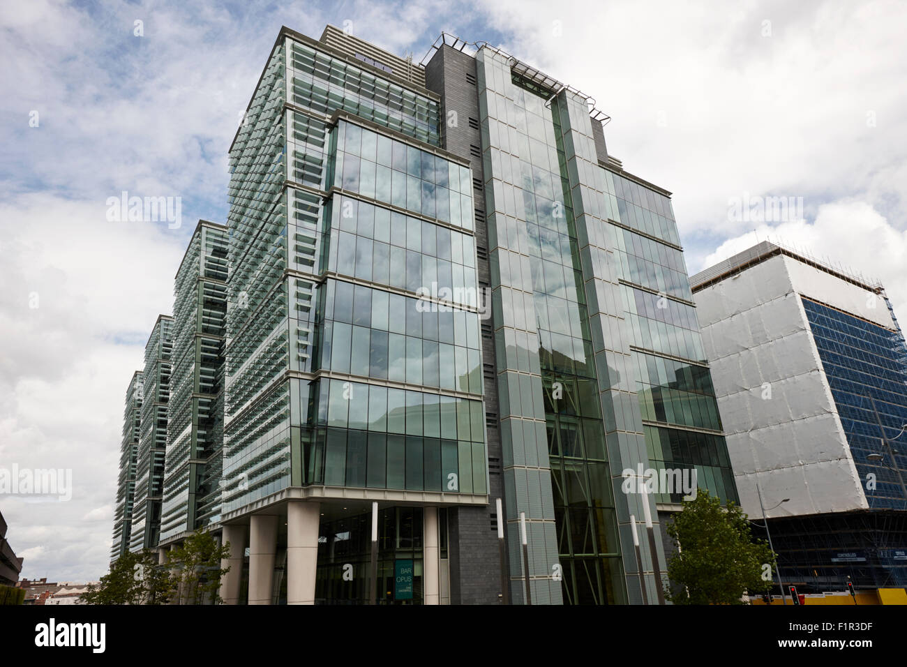 Snowhill Büroentwicklung im neuen Geschäftsviertel von Birmingham UK Stockbild
